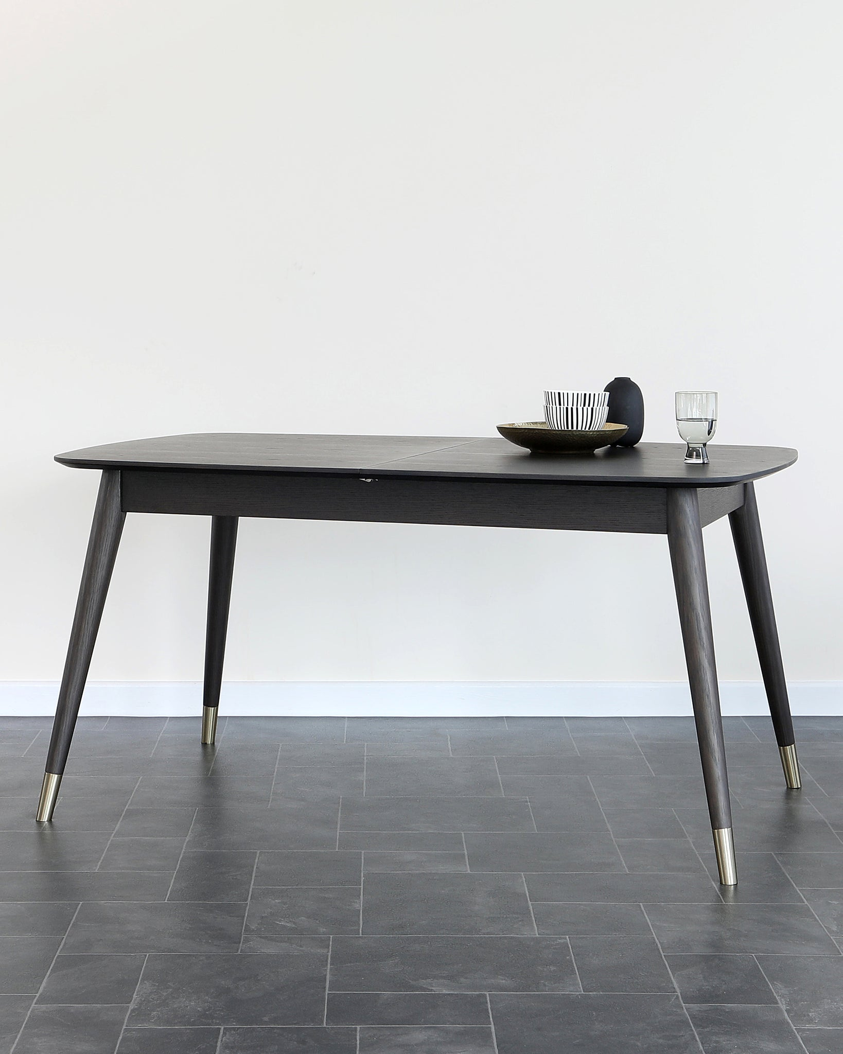 Clover Dark Oak Extending Dining Table