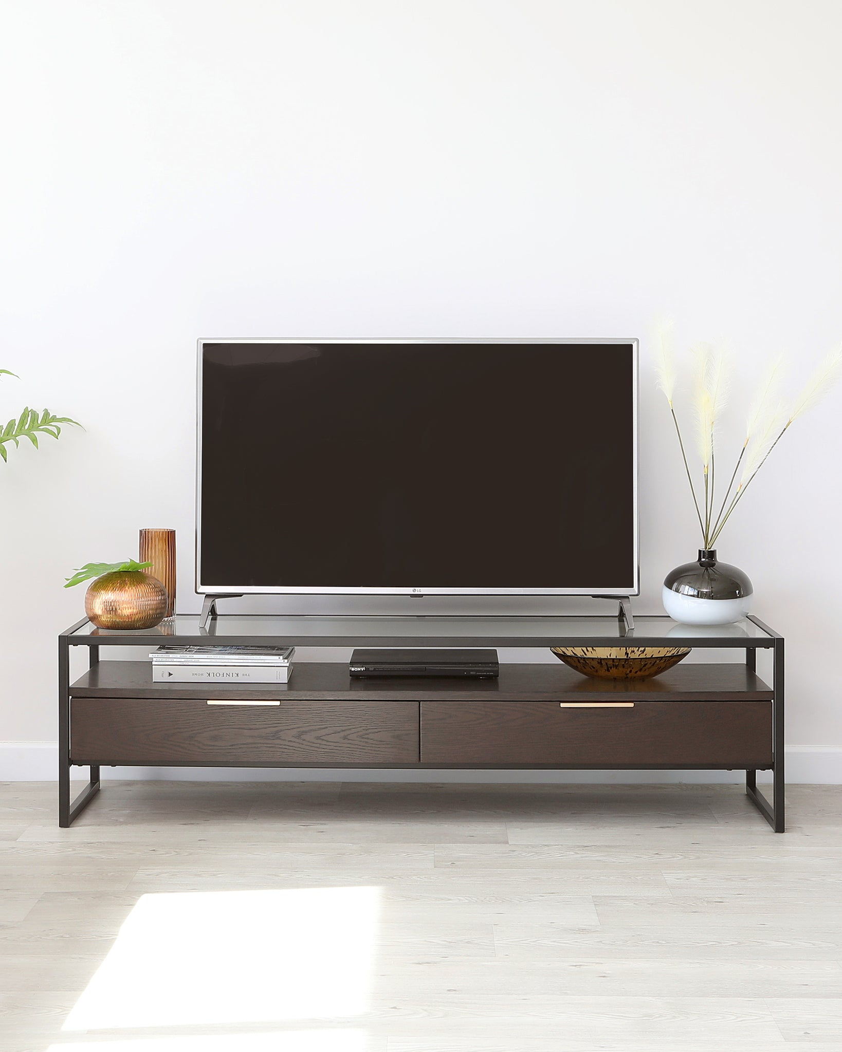 Denver Dark Oak TV Stand