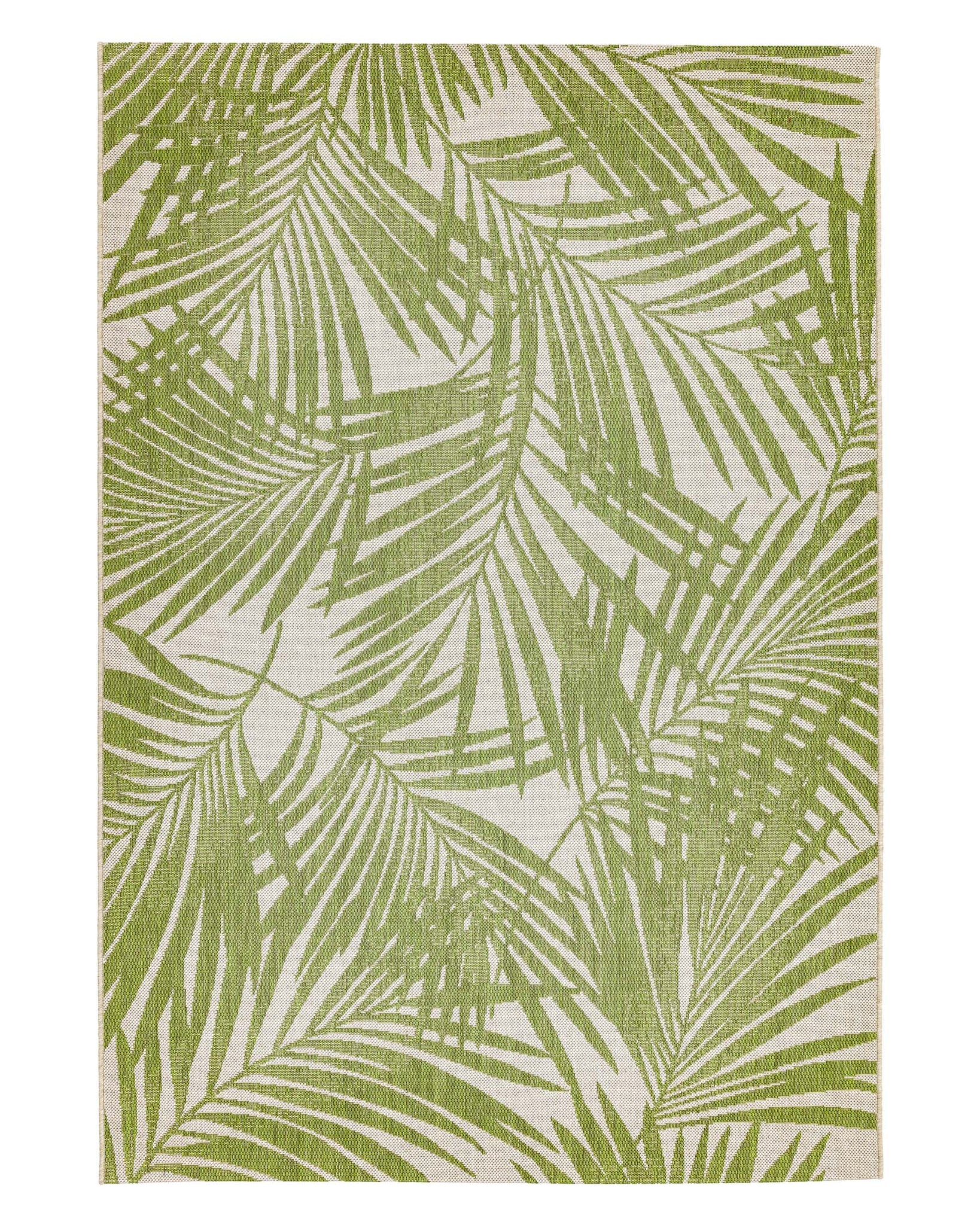 Green Palm Terrazza Small Garden Rug