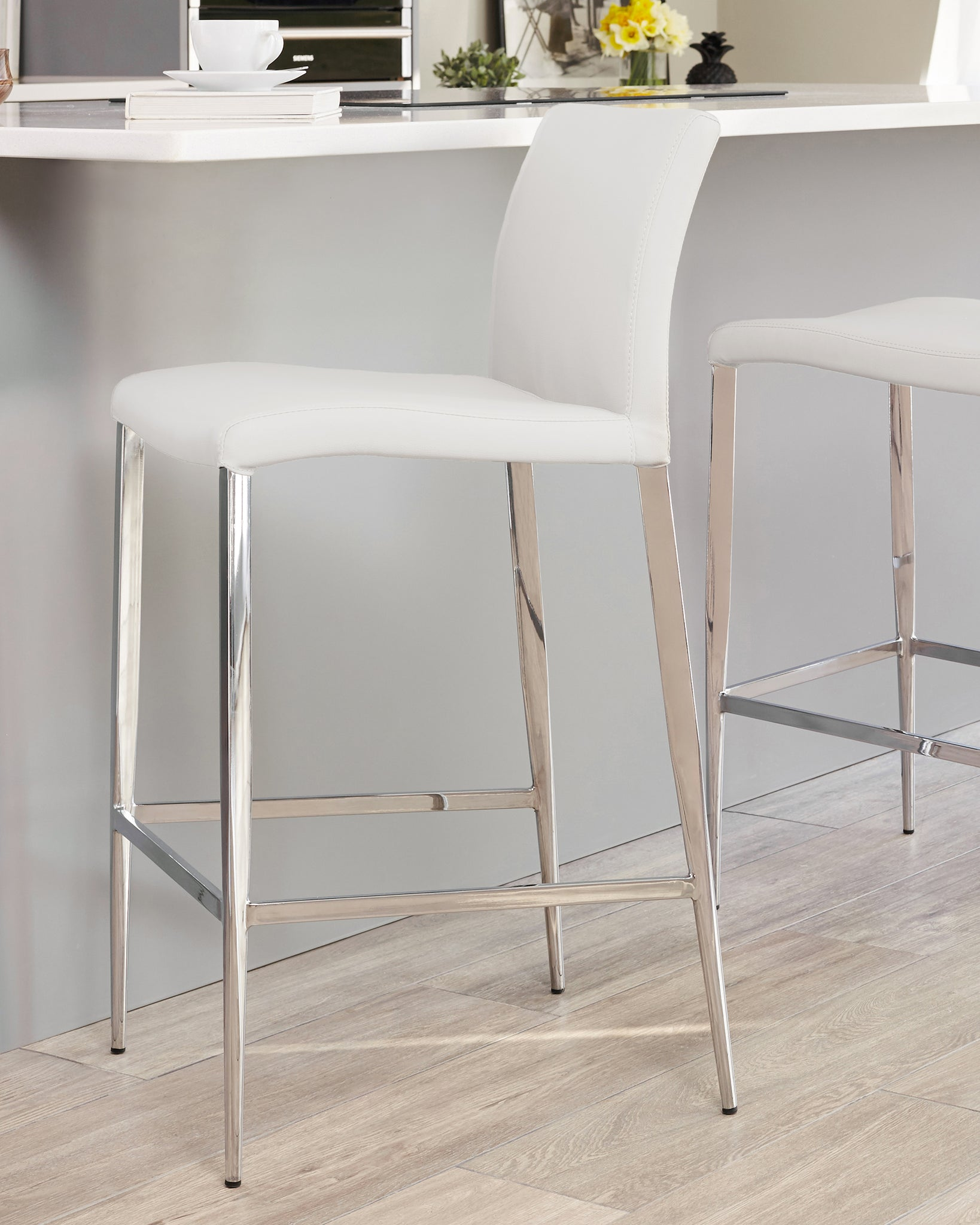 Picture of: Elise Black Bar Stools Danetti