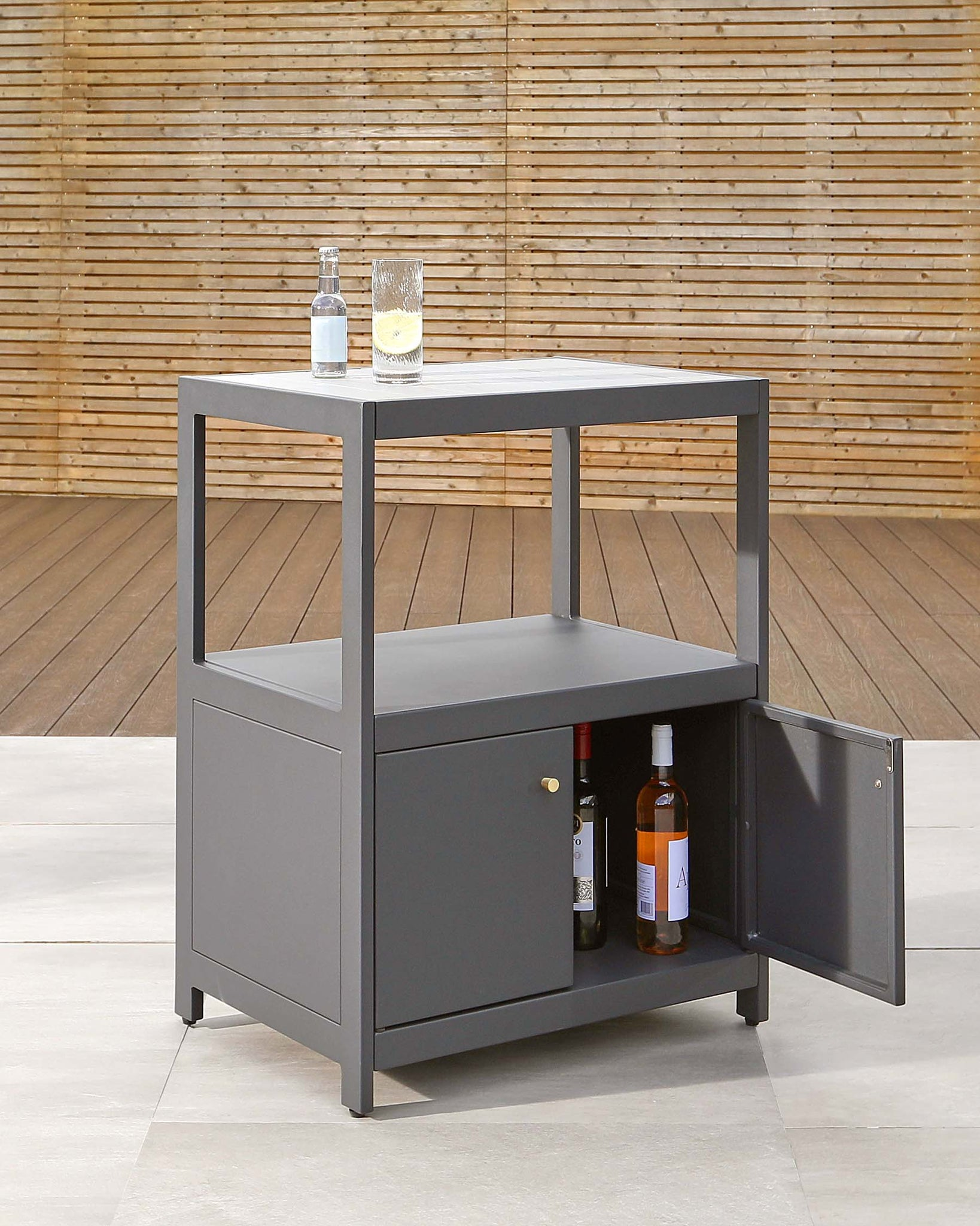 Palm Outdoor Kitchen Cabinet