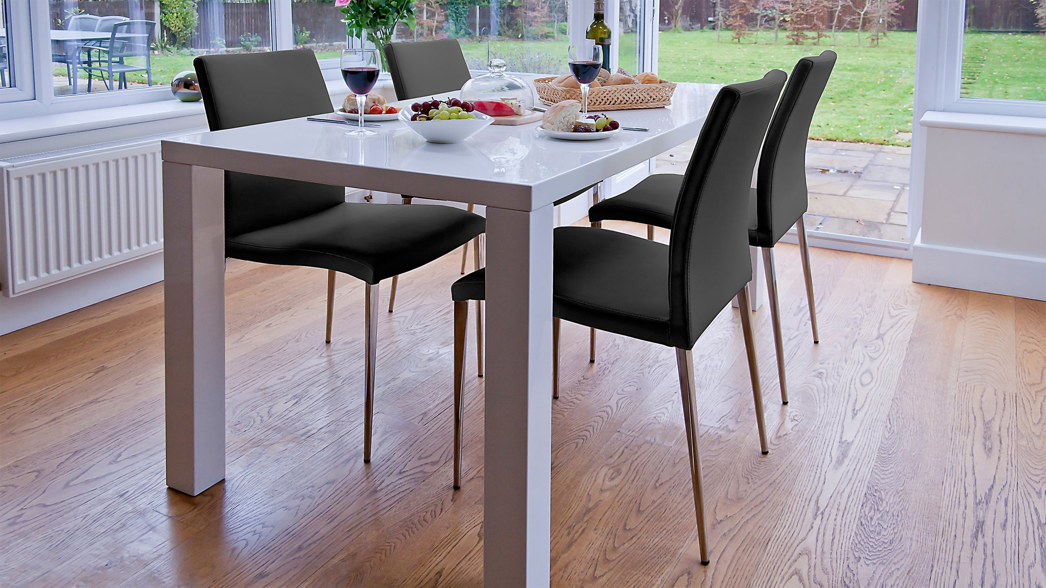 Fern And Elise 4 To 6 Seater Dining Set