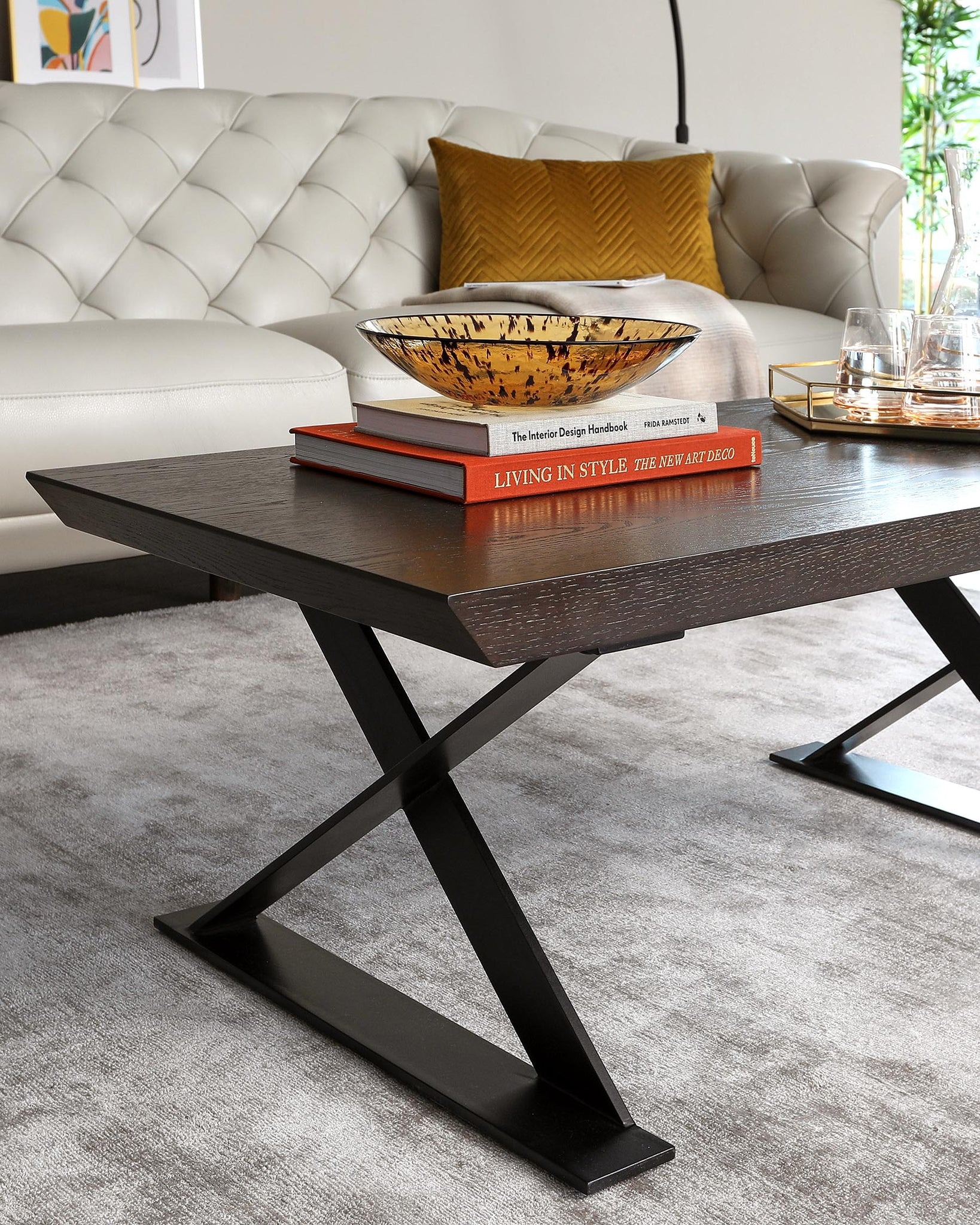 Nala Dark Oak Coffee Table
