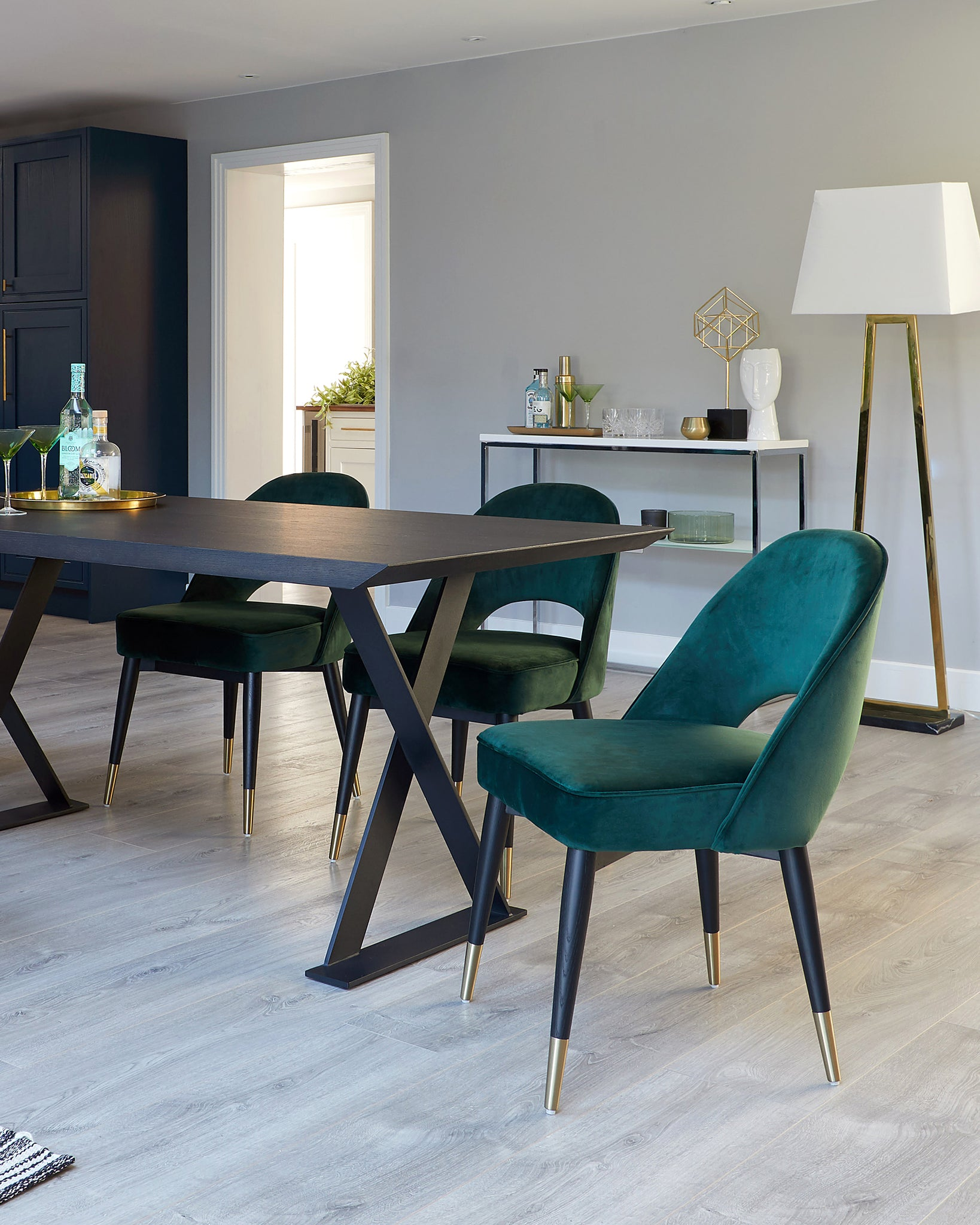 Picture of: Dining Chairs Leather Oak High Back Dining Chairs Danetti