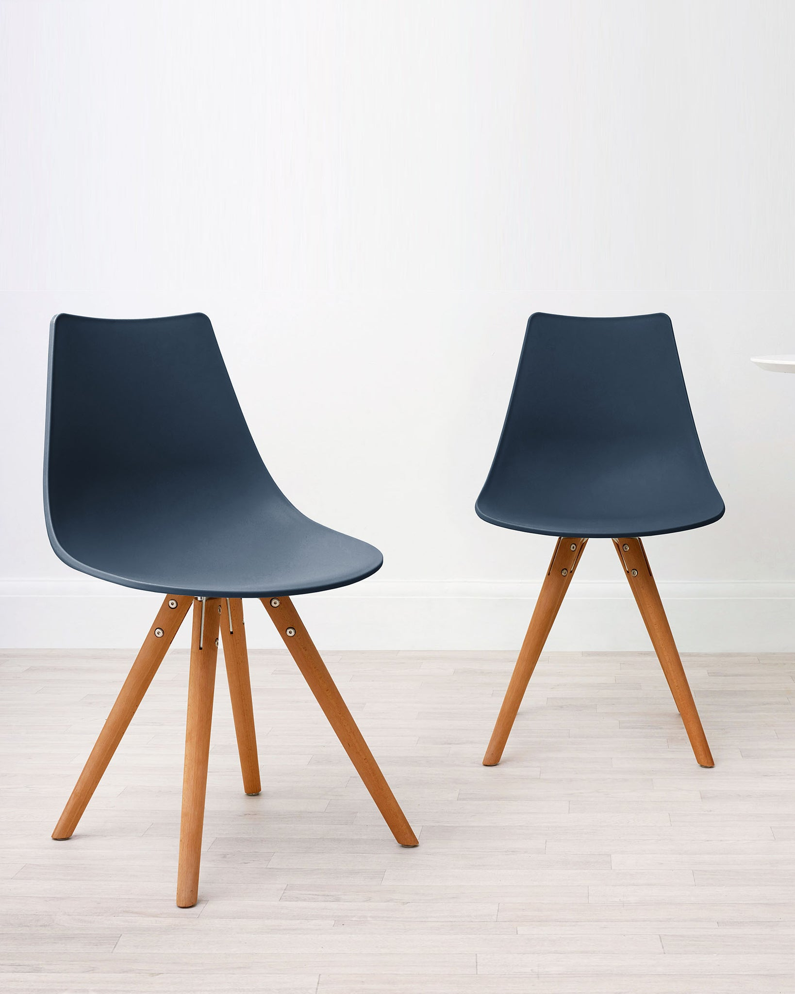 Finn Navy Blue Dining Chair - Set Of 2