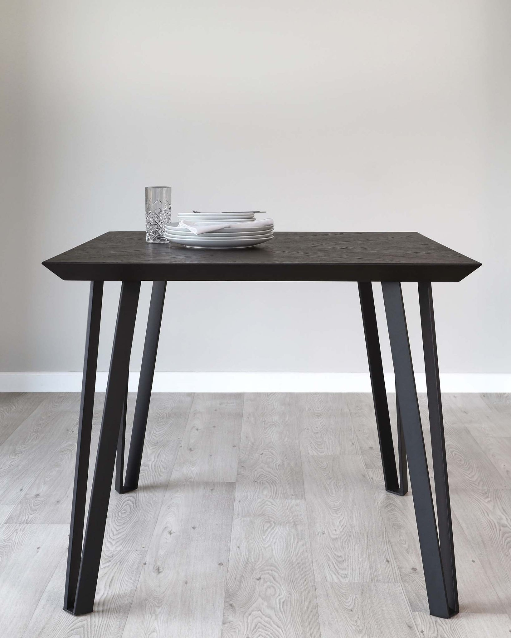 Nora Dark Oak Square Dining Table