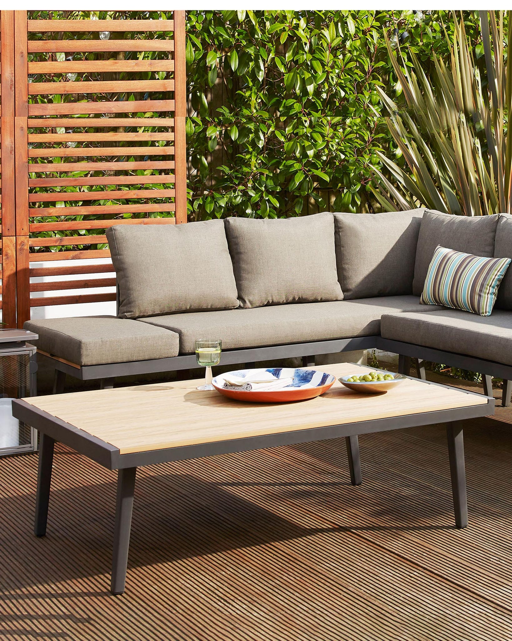 Palermo Grey Outdoor Coffee Table