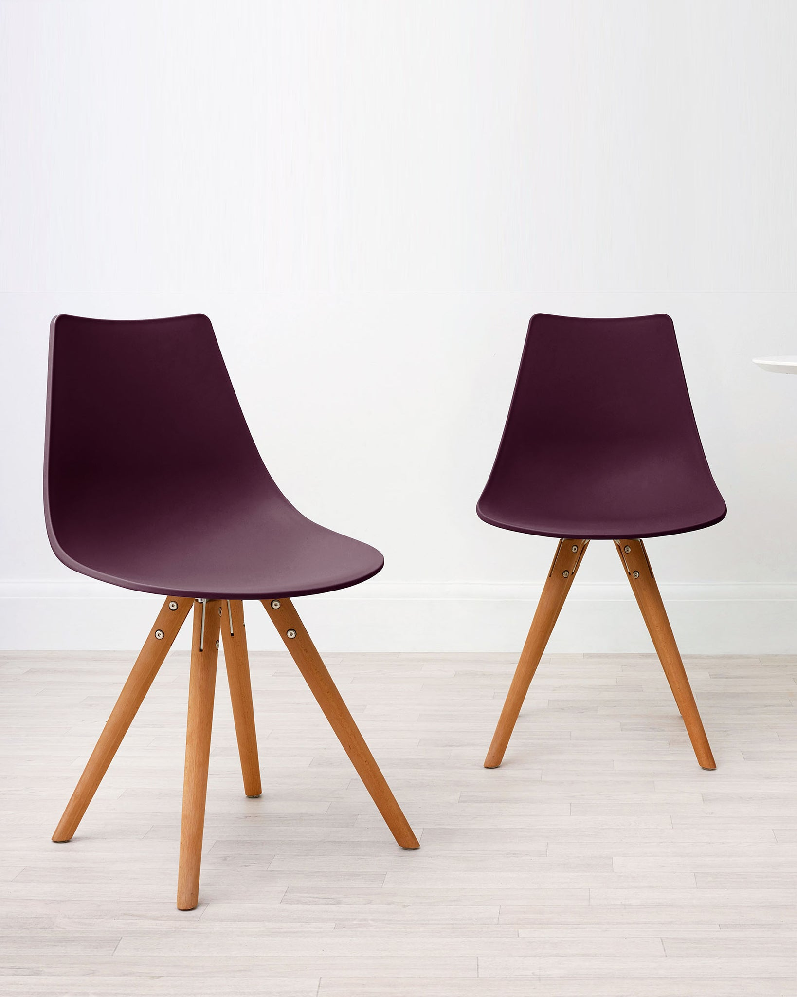Finn Mulberry Dining Chair - Set Of 2