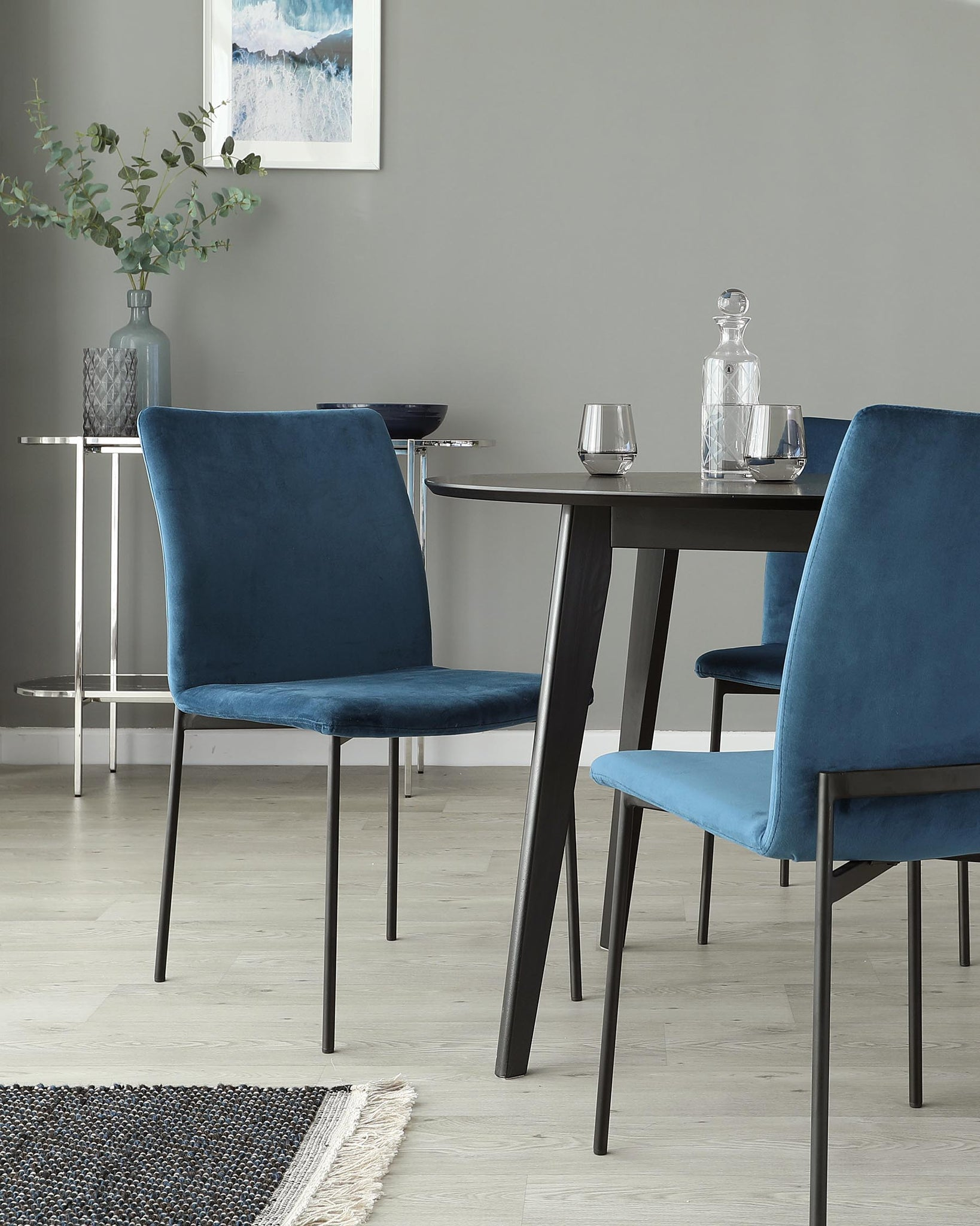 Roxanne and Leah Dining Chair Set