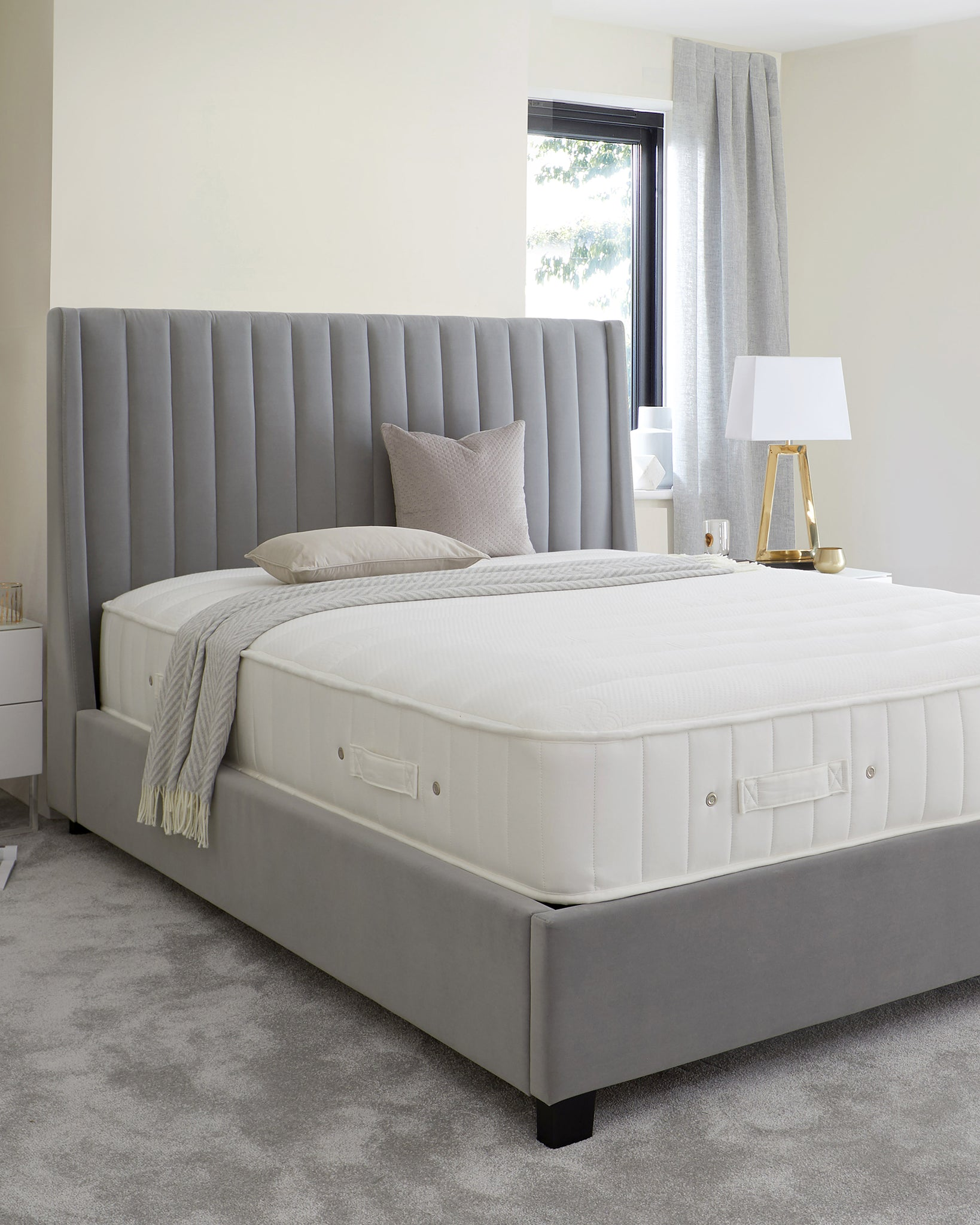 Sumptuous Luxury Quilted 1400 Pocket Spring Super King Mattress