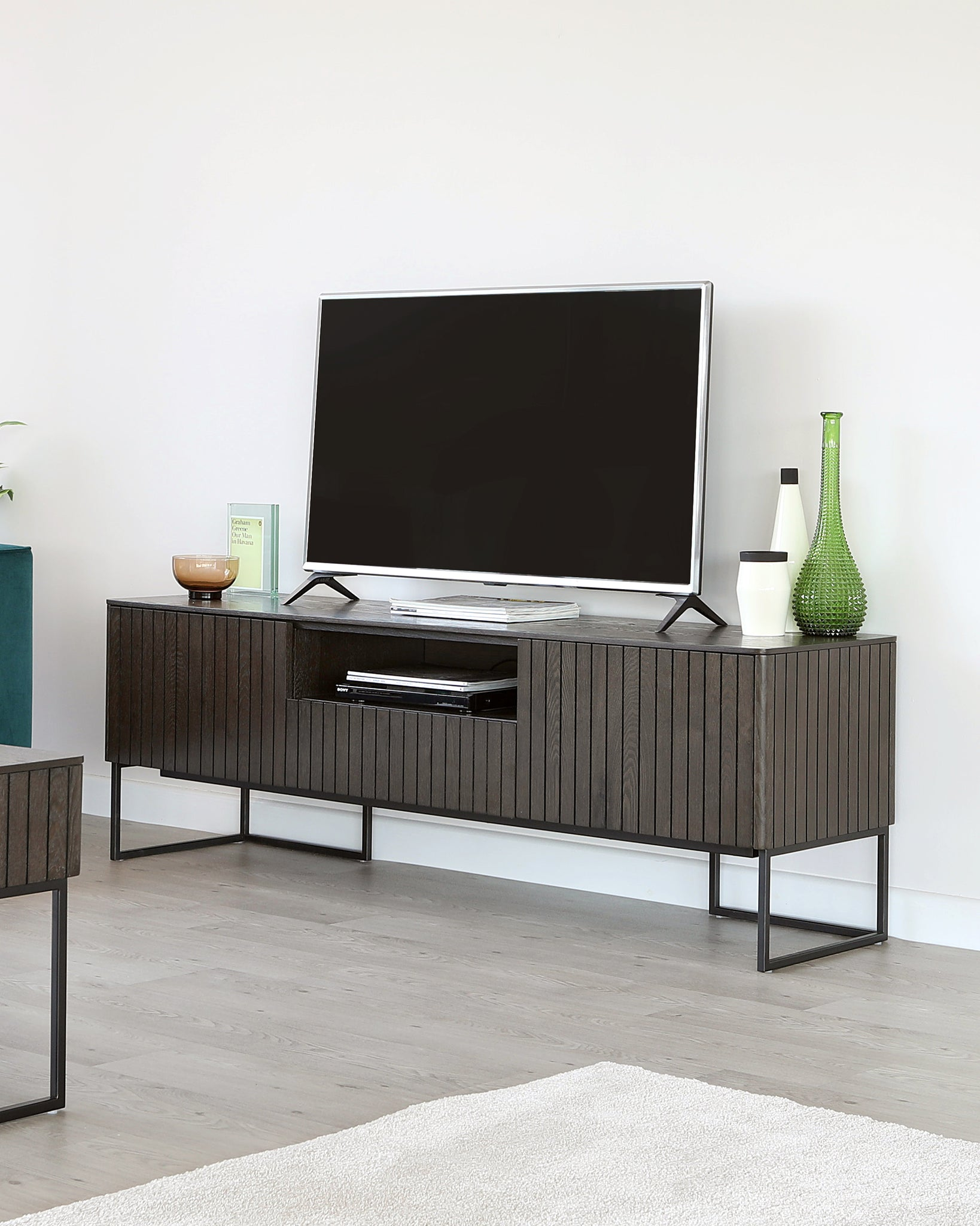 Toronto Dark Wood Tv Stand