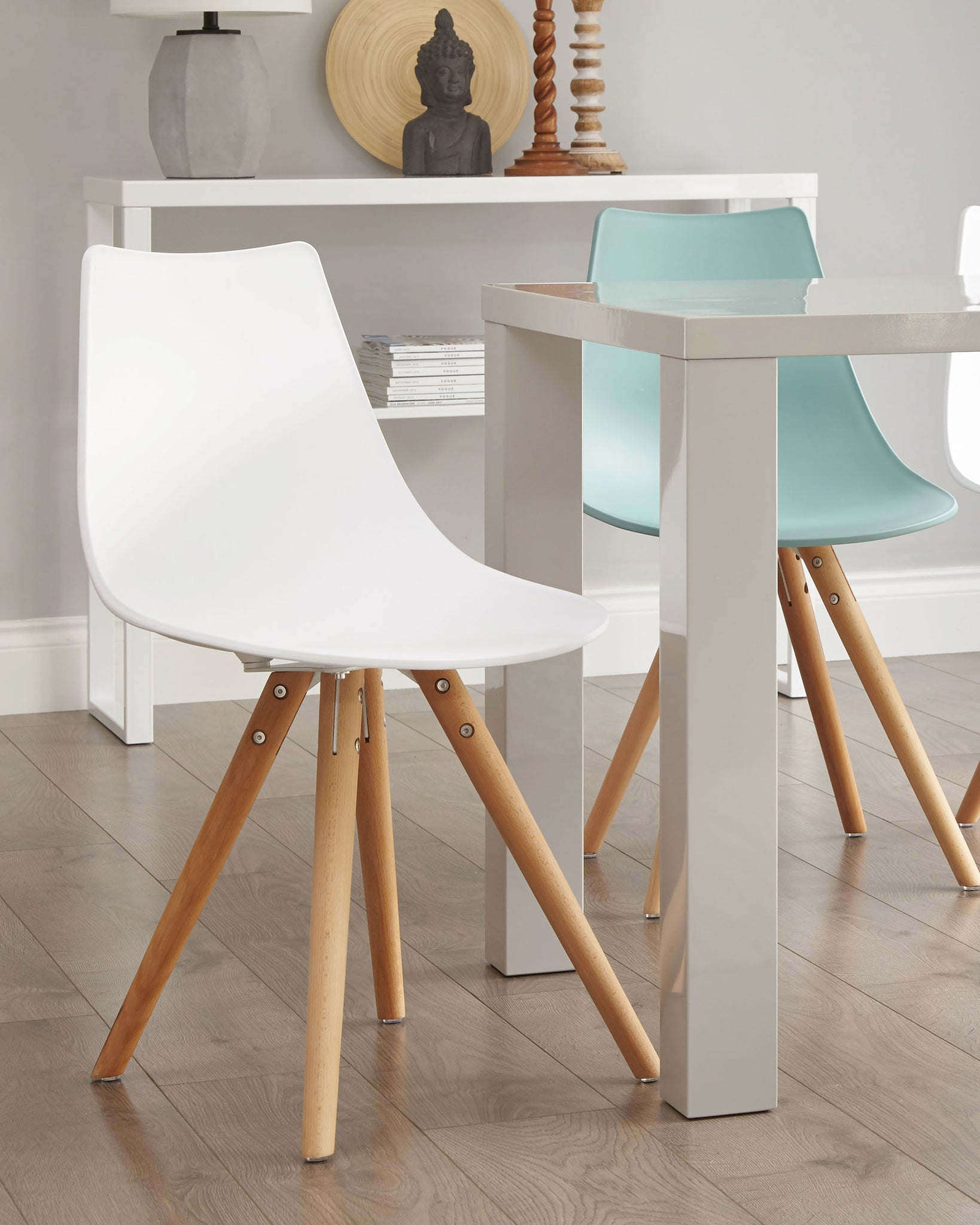 Finn White Dining Chair - Set Of 2