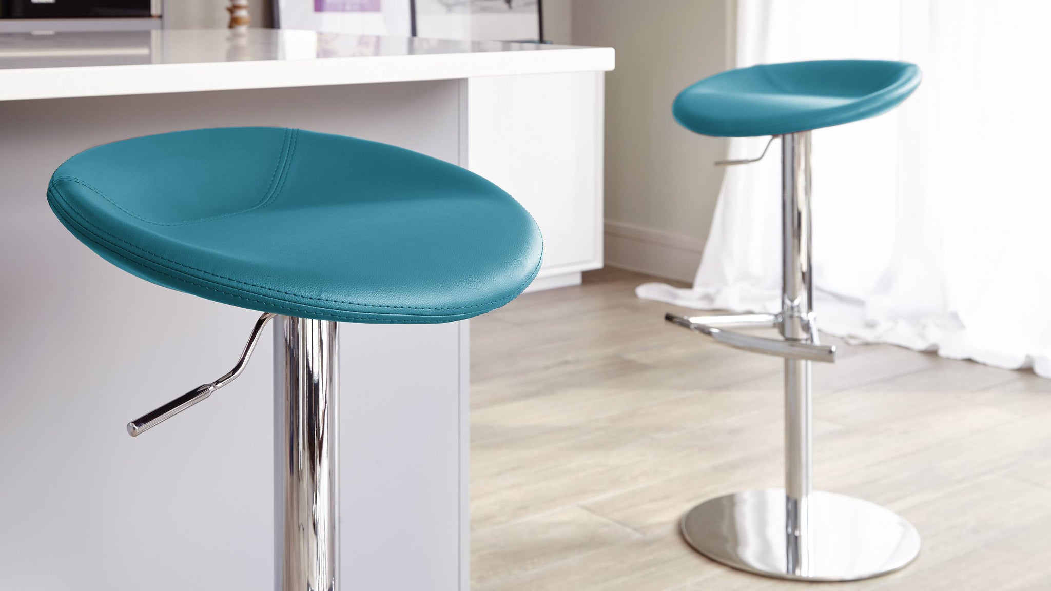Buy anzio gaslift colourful bar stool