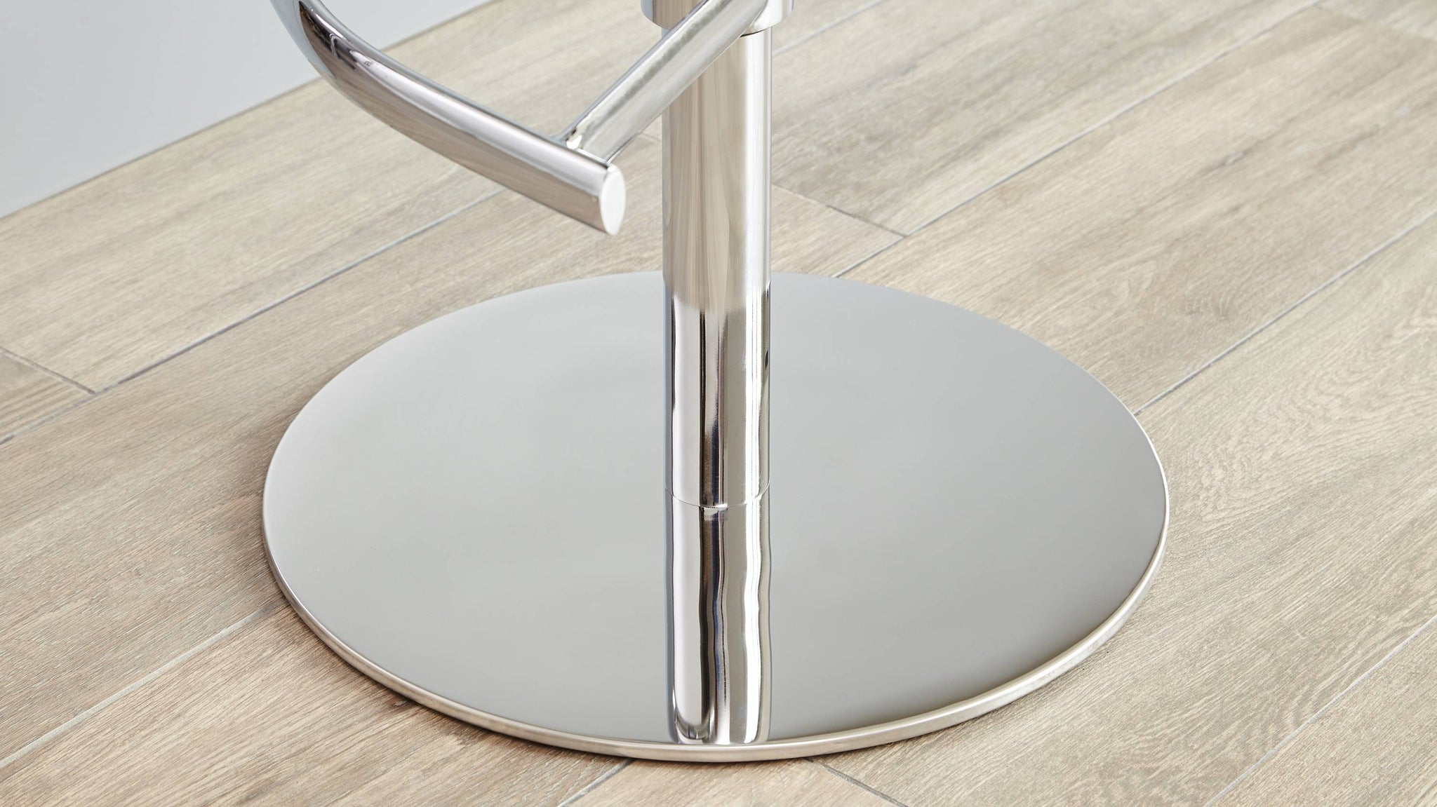 Heavy Chrome Based Bar Stool