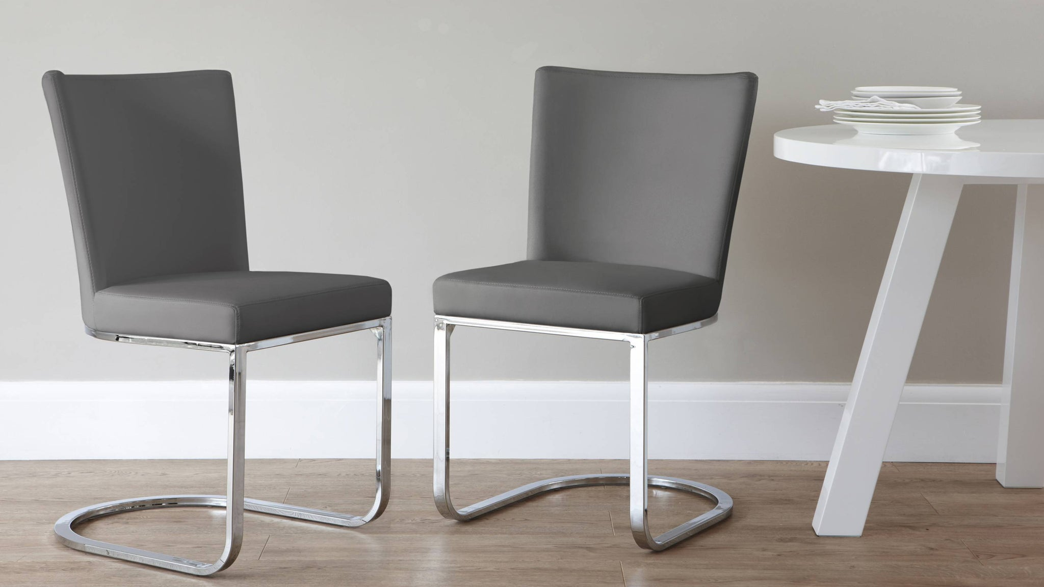 Affordable Grey Dining Chairs