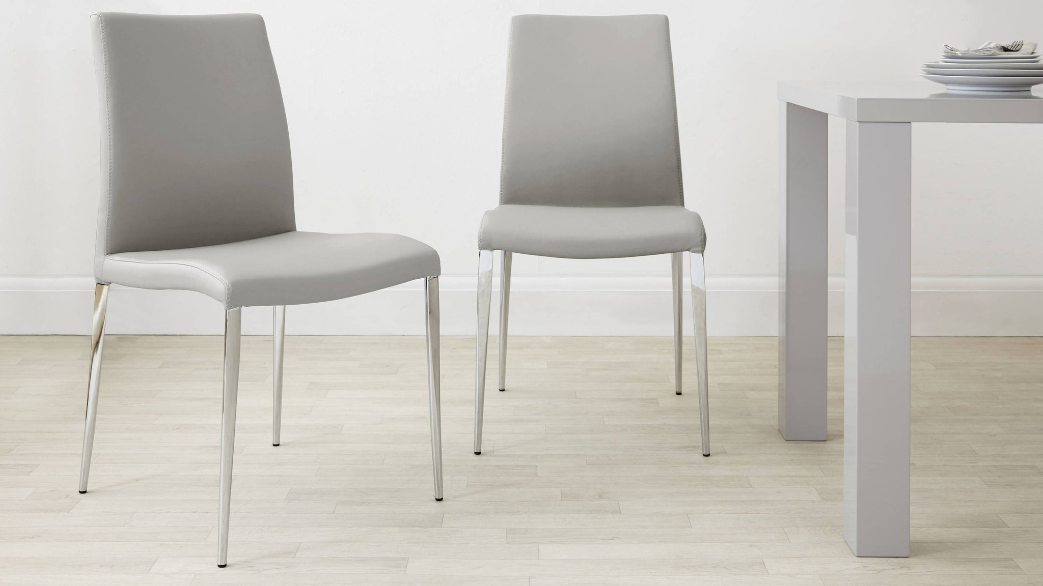 Light Grey Chairs Under £100
