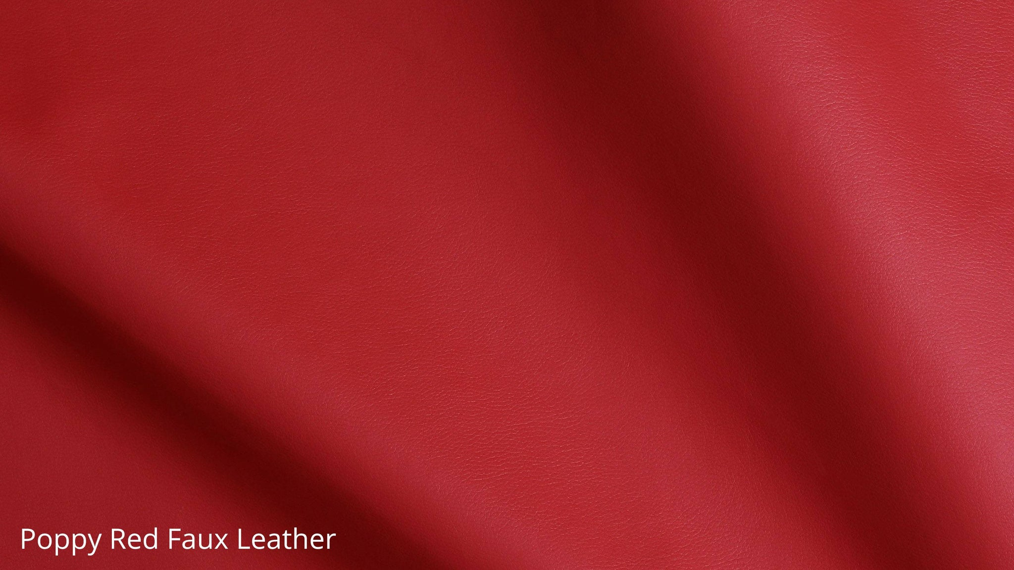 Light red faux leather furniture