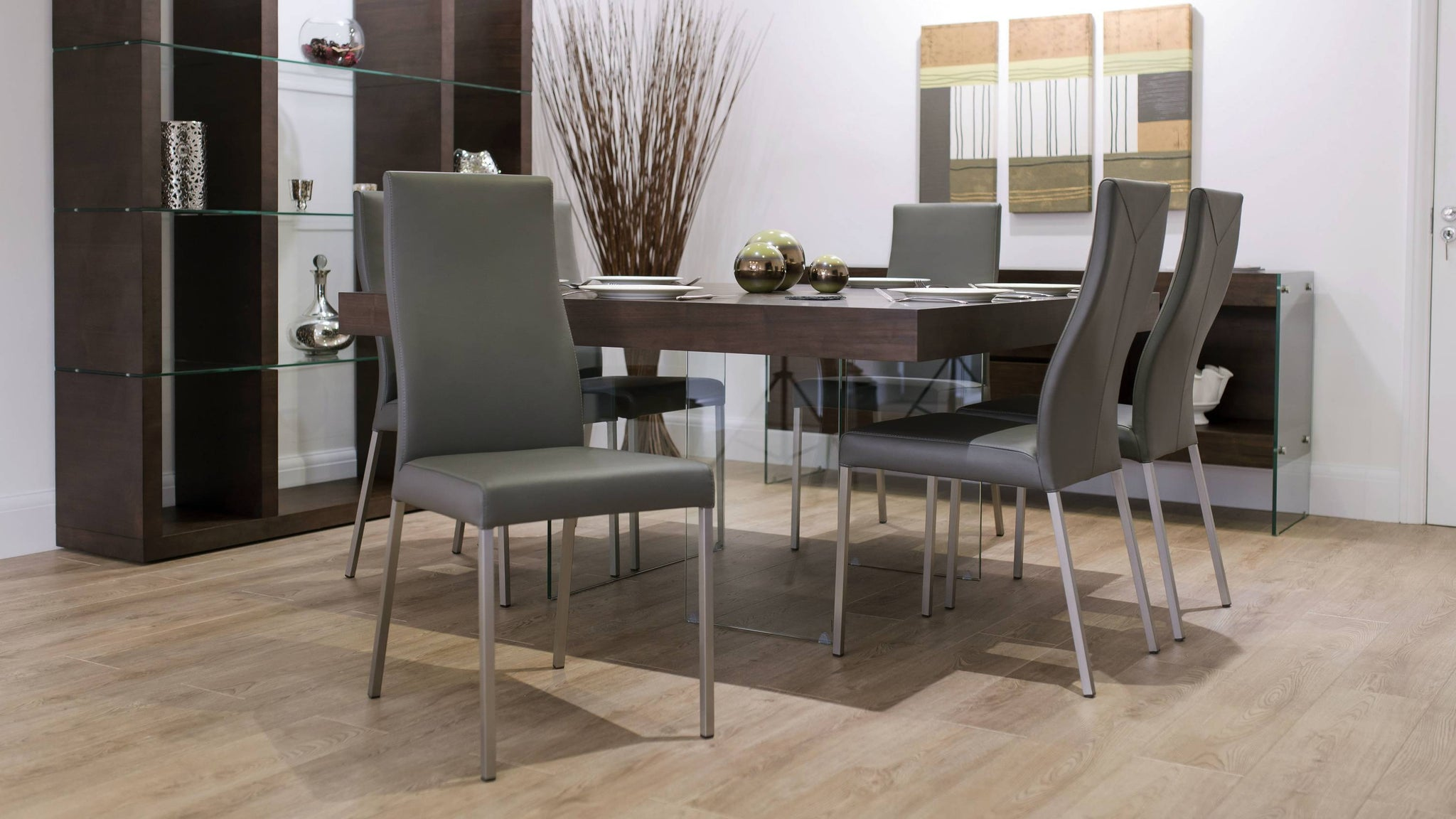 Large Square 8 Seater Dining Set
