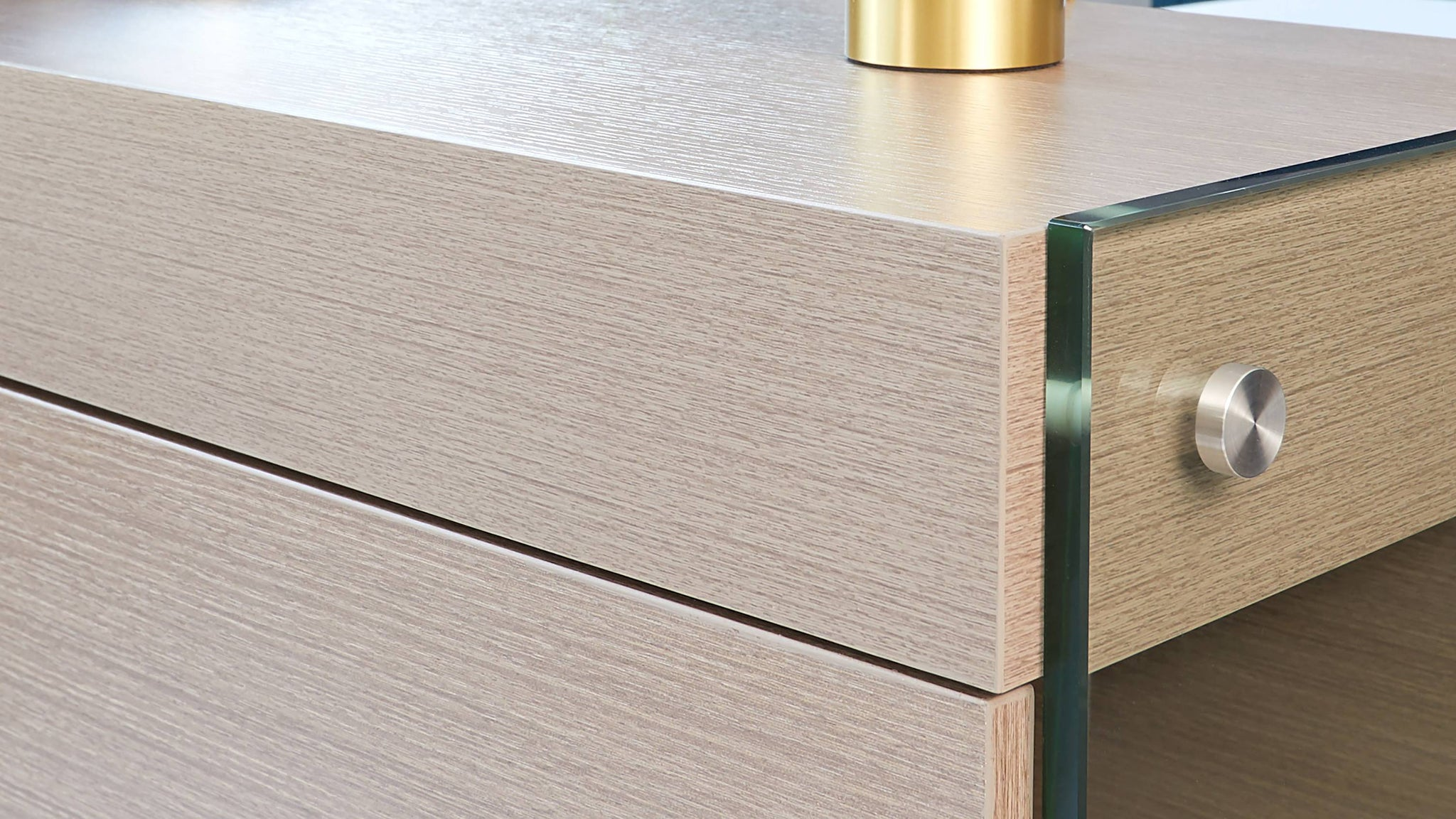 Aria grey oak sideboard