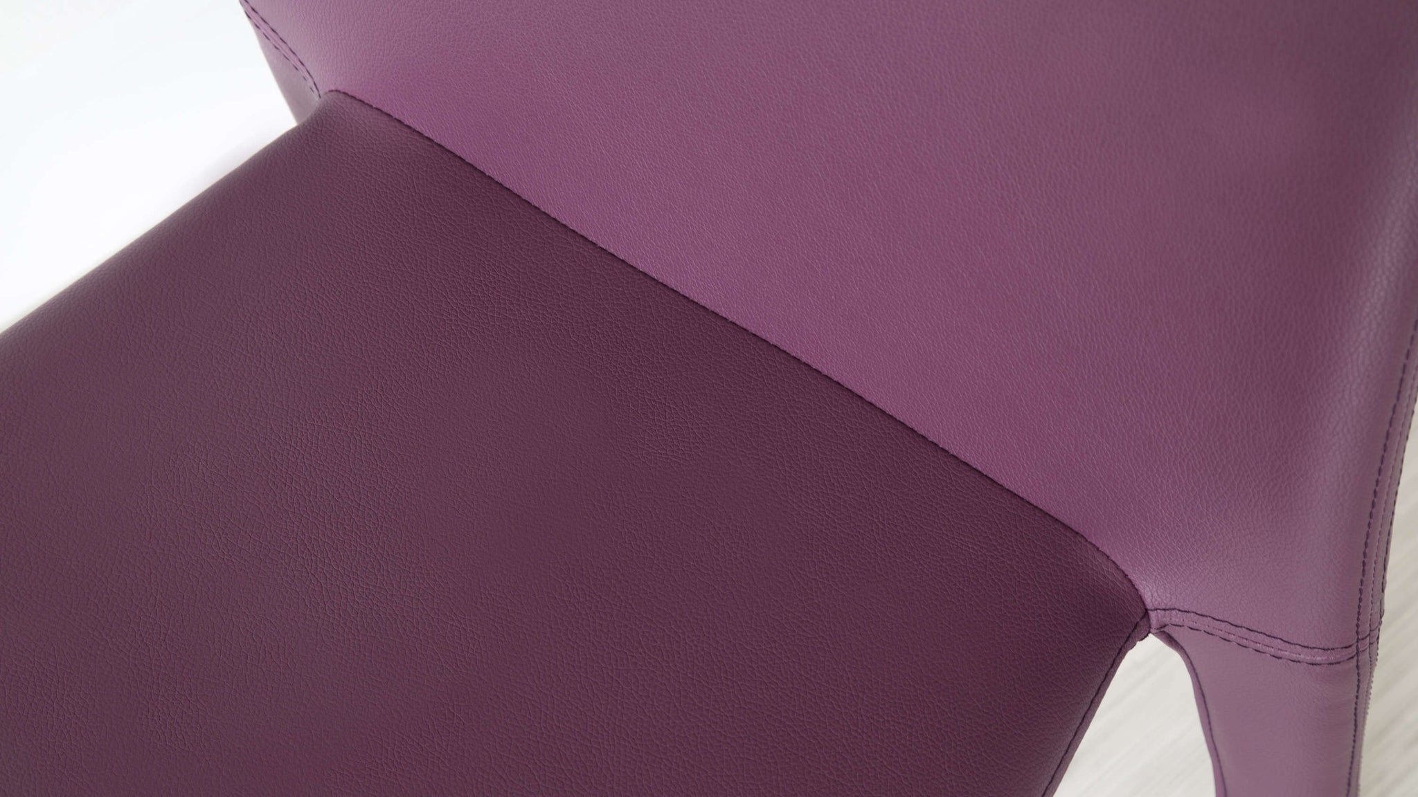 Affordable Purple Leather Dining Chairs