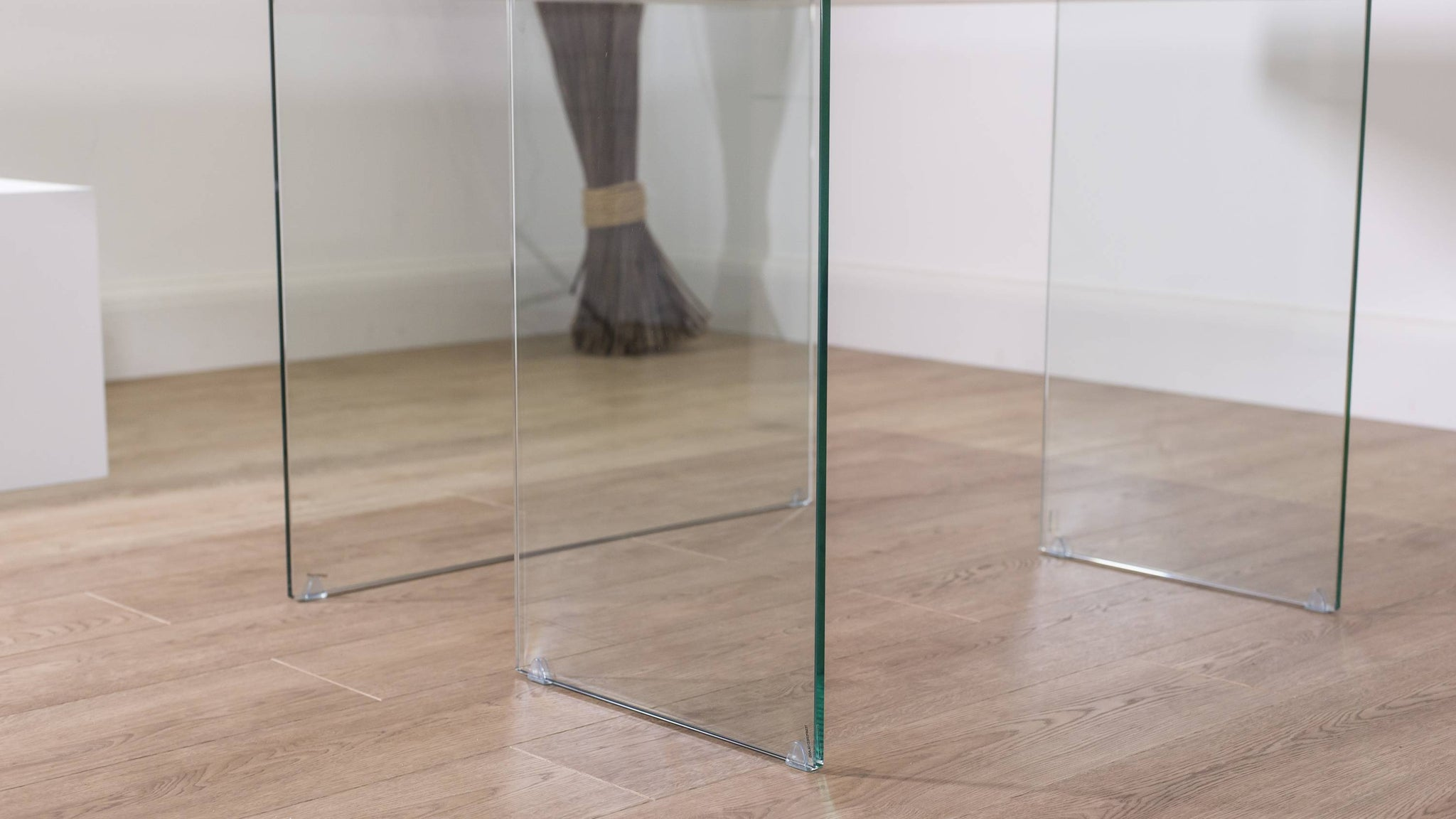Glass Legged Dining Table