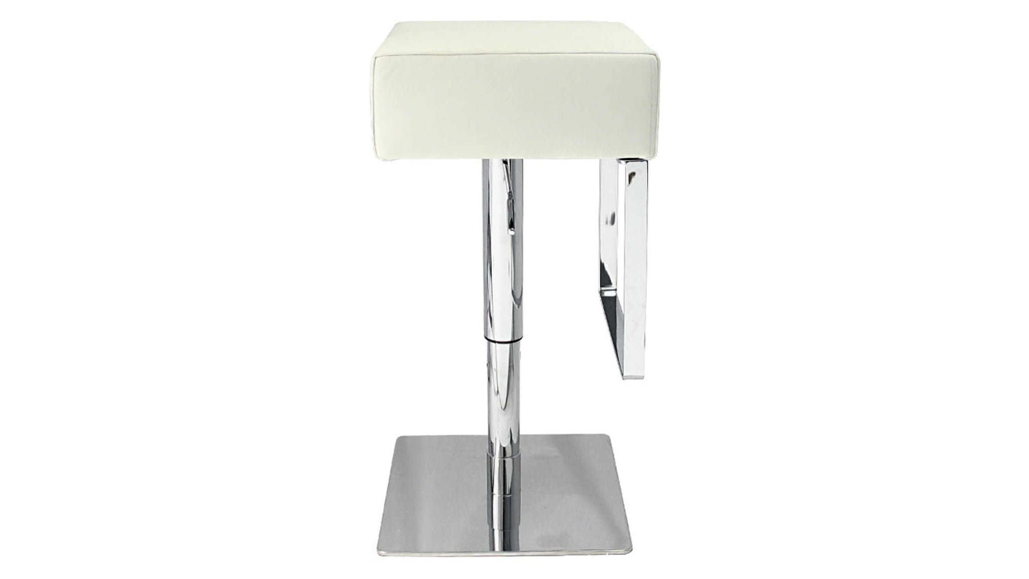 Gas Lift Bar Stool with a Chrome Base