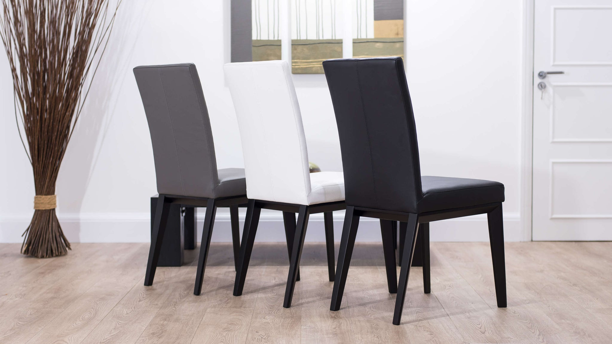 Premium Leather Dining Chairs UK