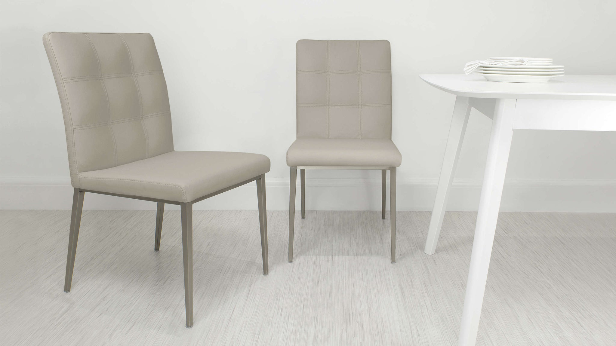 Light Beige Dining Chairs