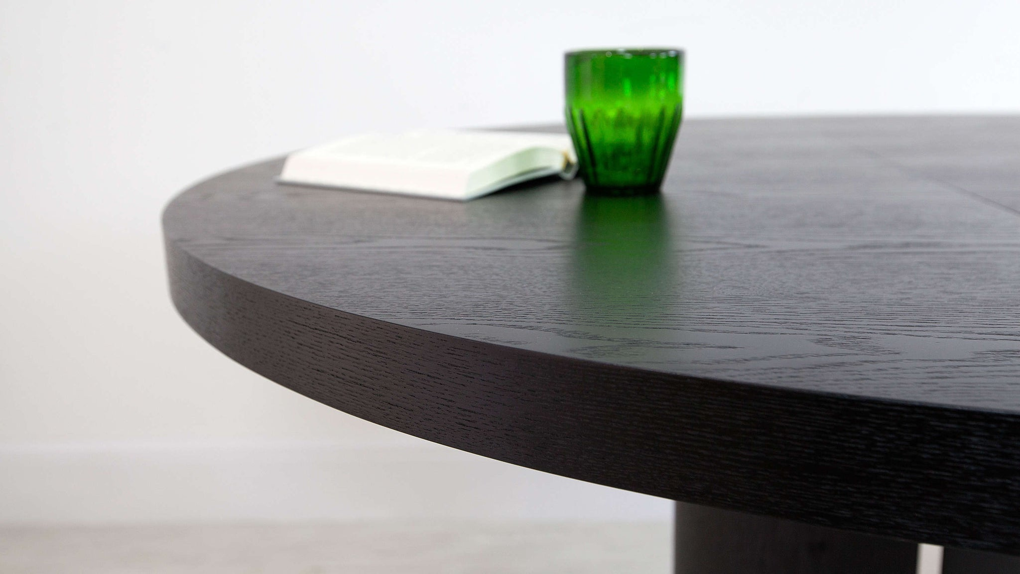 Contemporary Black Dining Table