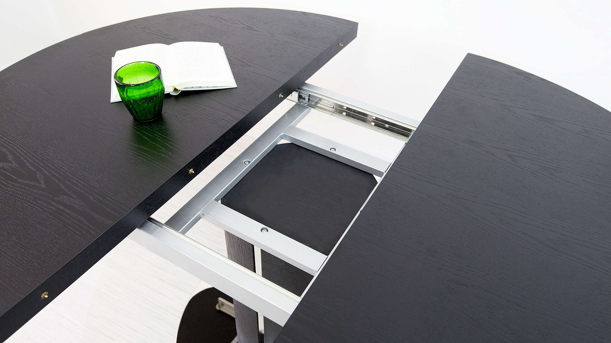 Black Extending Dining Table