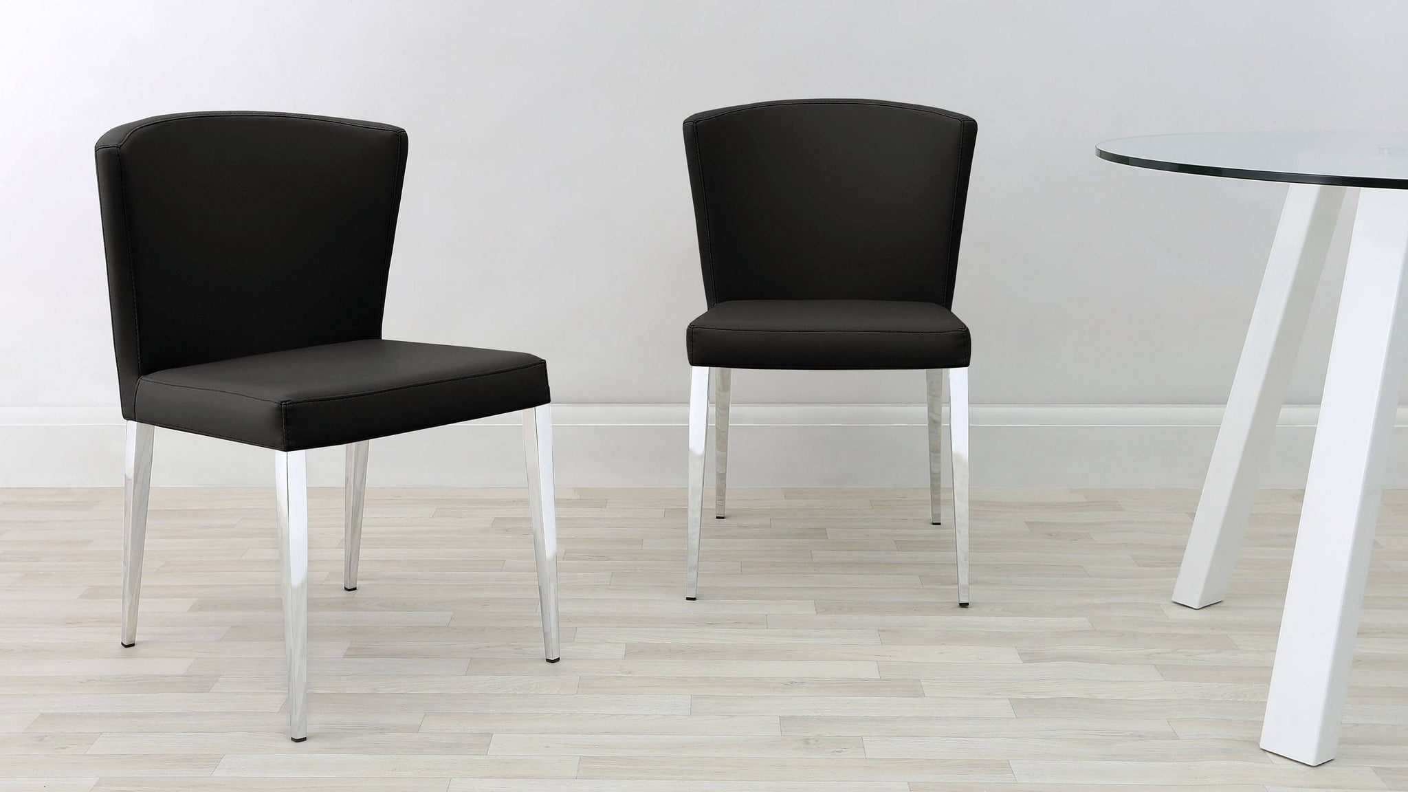 Modern Black Dining Chairs UK Delivery