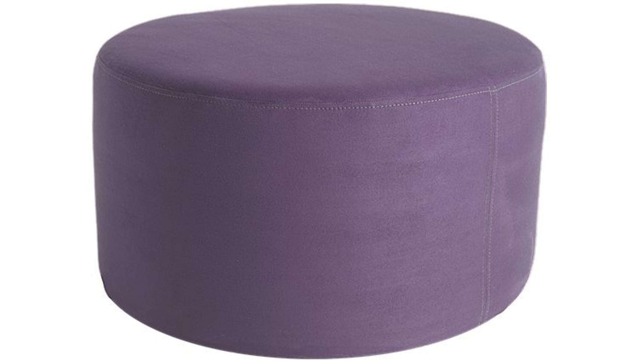 Purple Round Stool