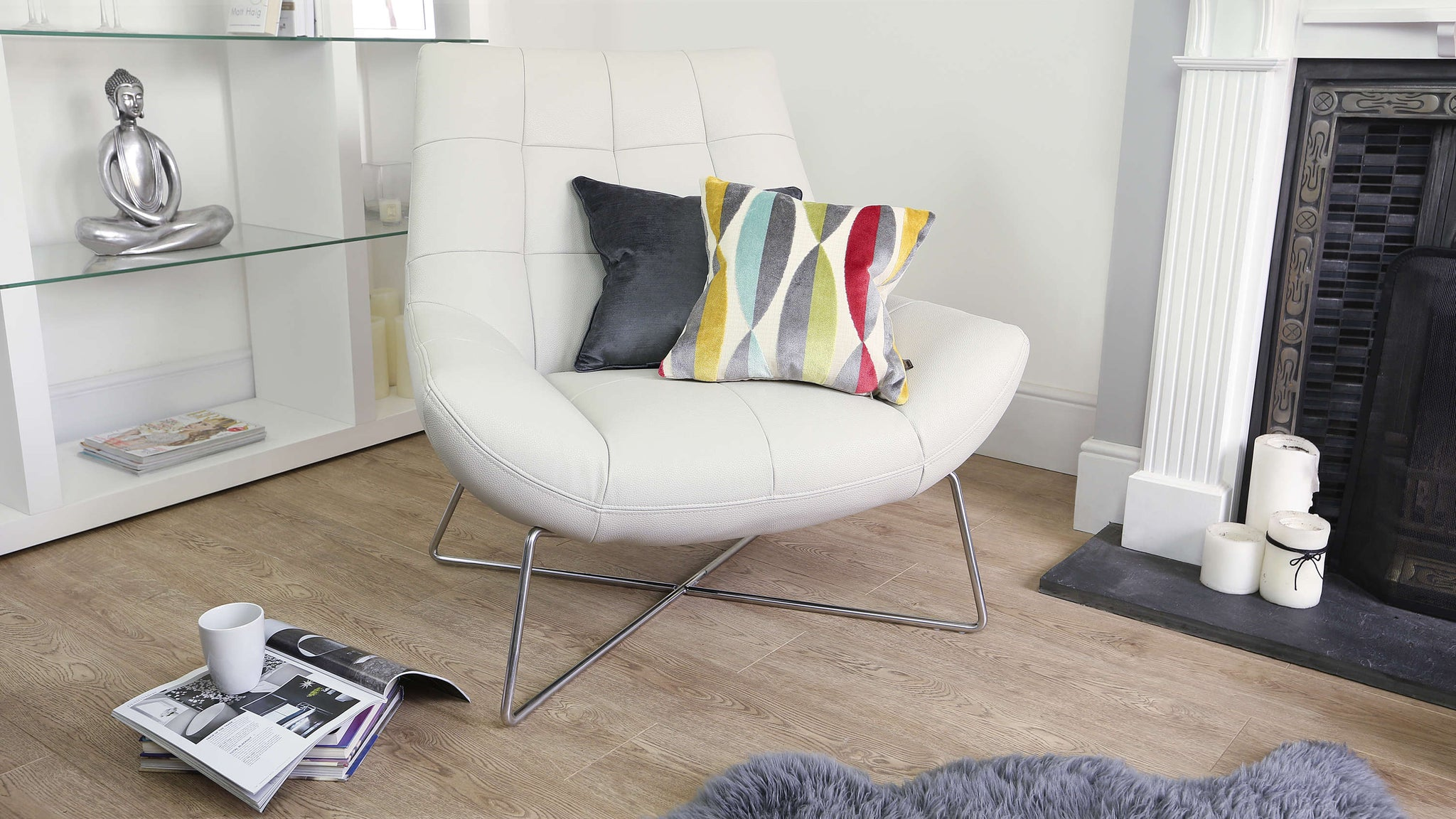 Modern Coloured Cushion