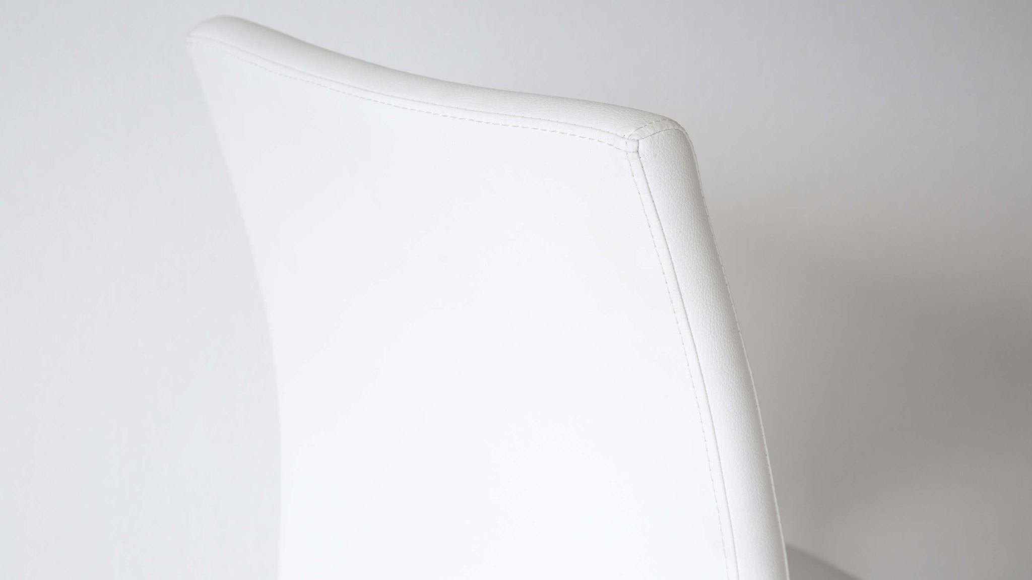 quality White leather dining chair UK delivery under 100