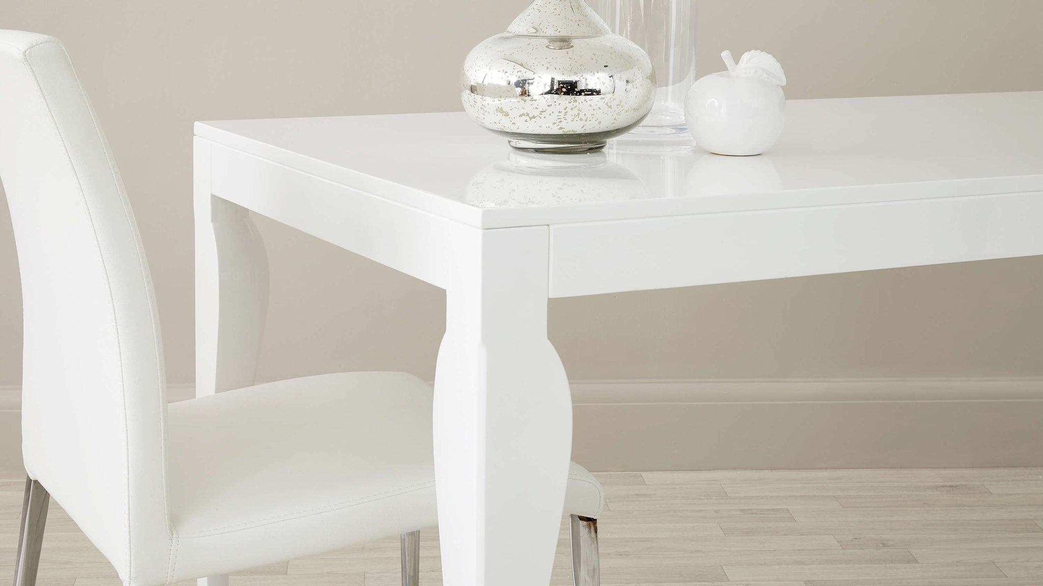 White Cheap Quality Dining Chair