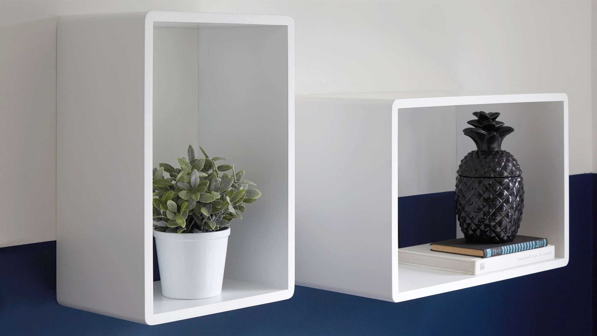 Large Floating Hollow Shelves