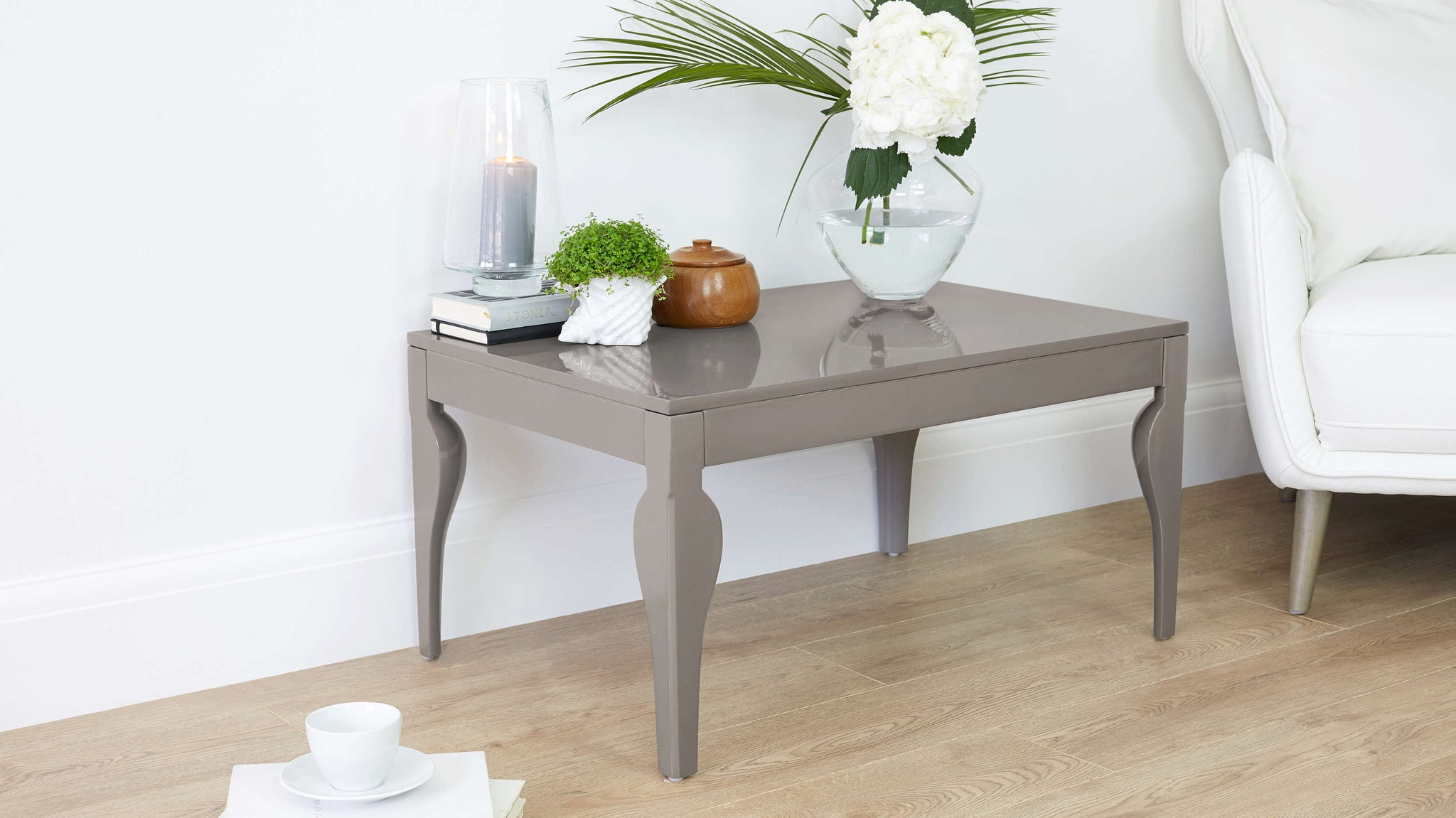 Contemporary Grey Gloss Coffee Tables
