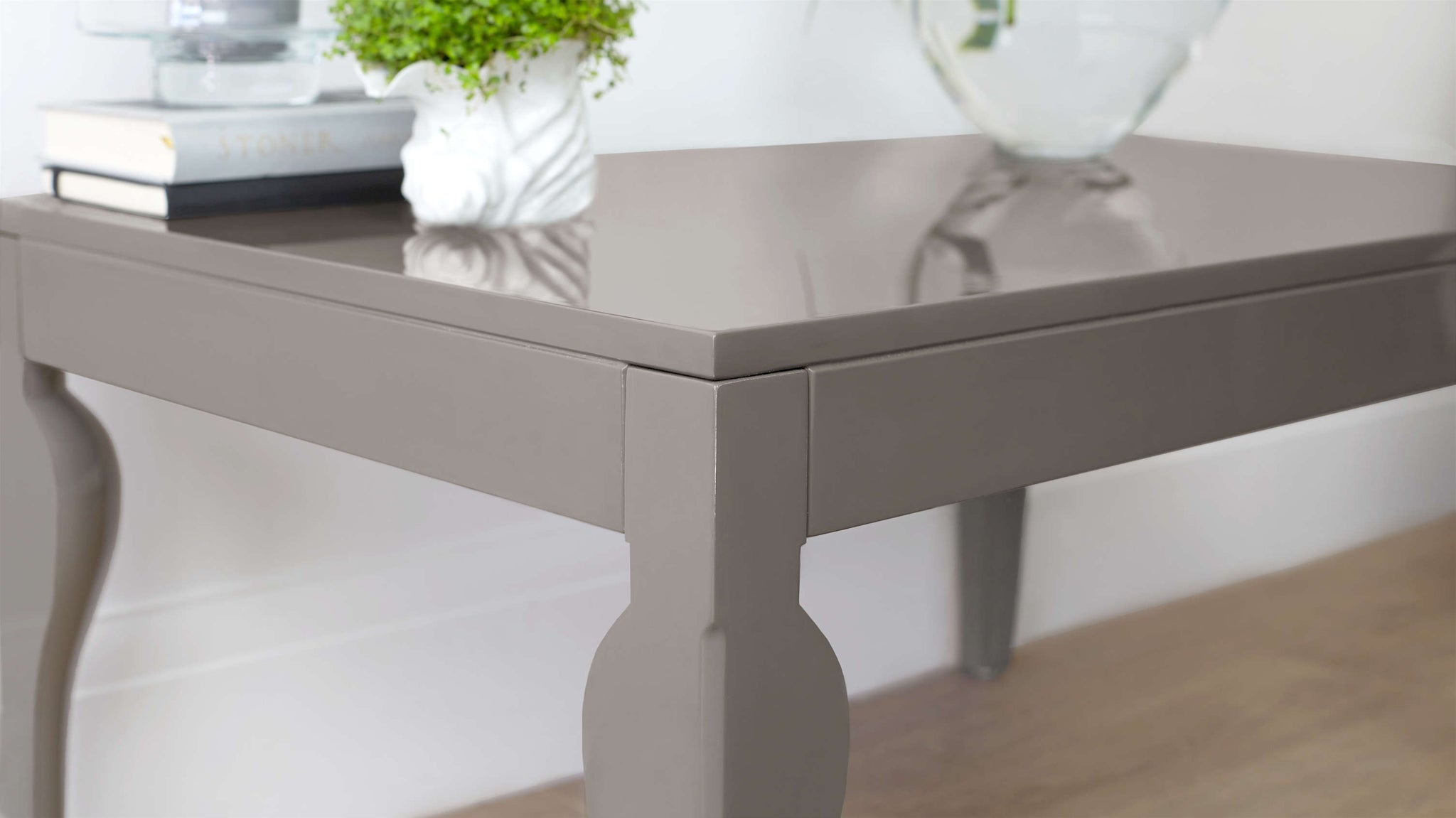Modern Grey Coffee Table