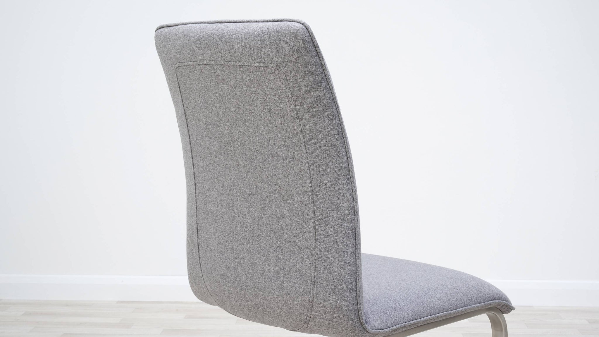Light Grey fabric chairs