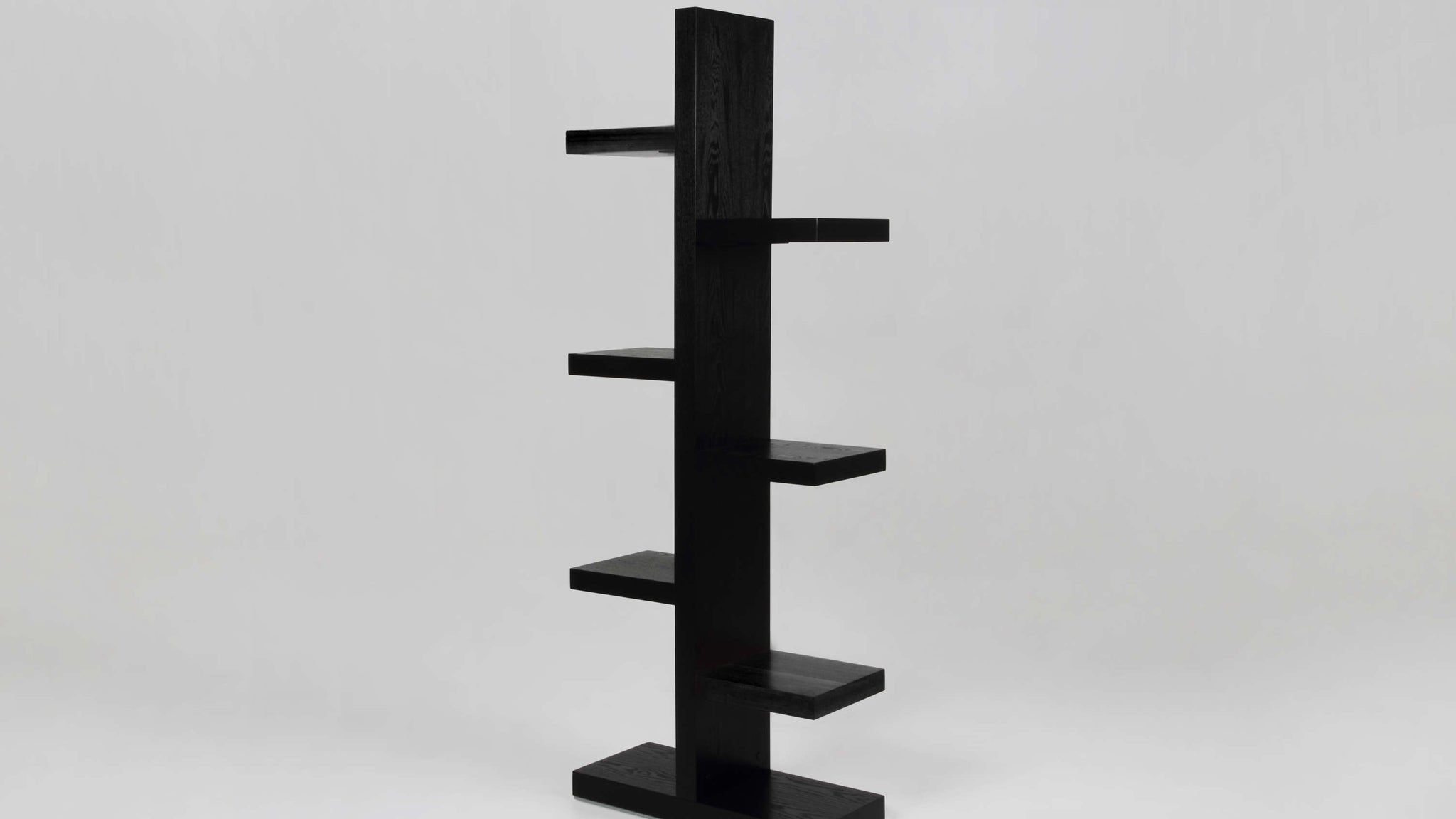 Contemporary Black Bookcase UK Delivery