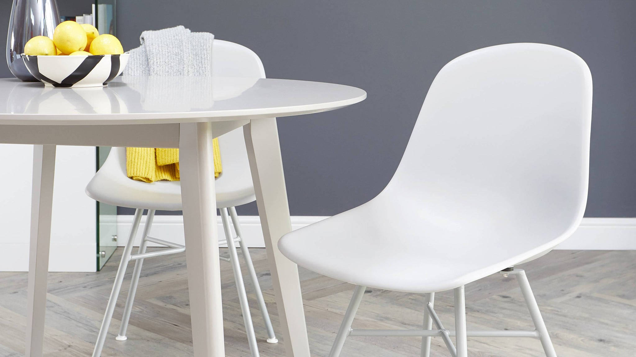 Buy modern simplistic dining chairs