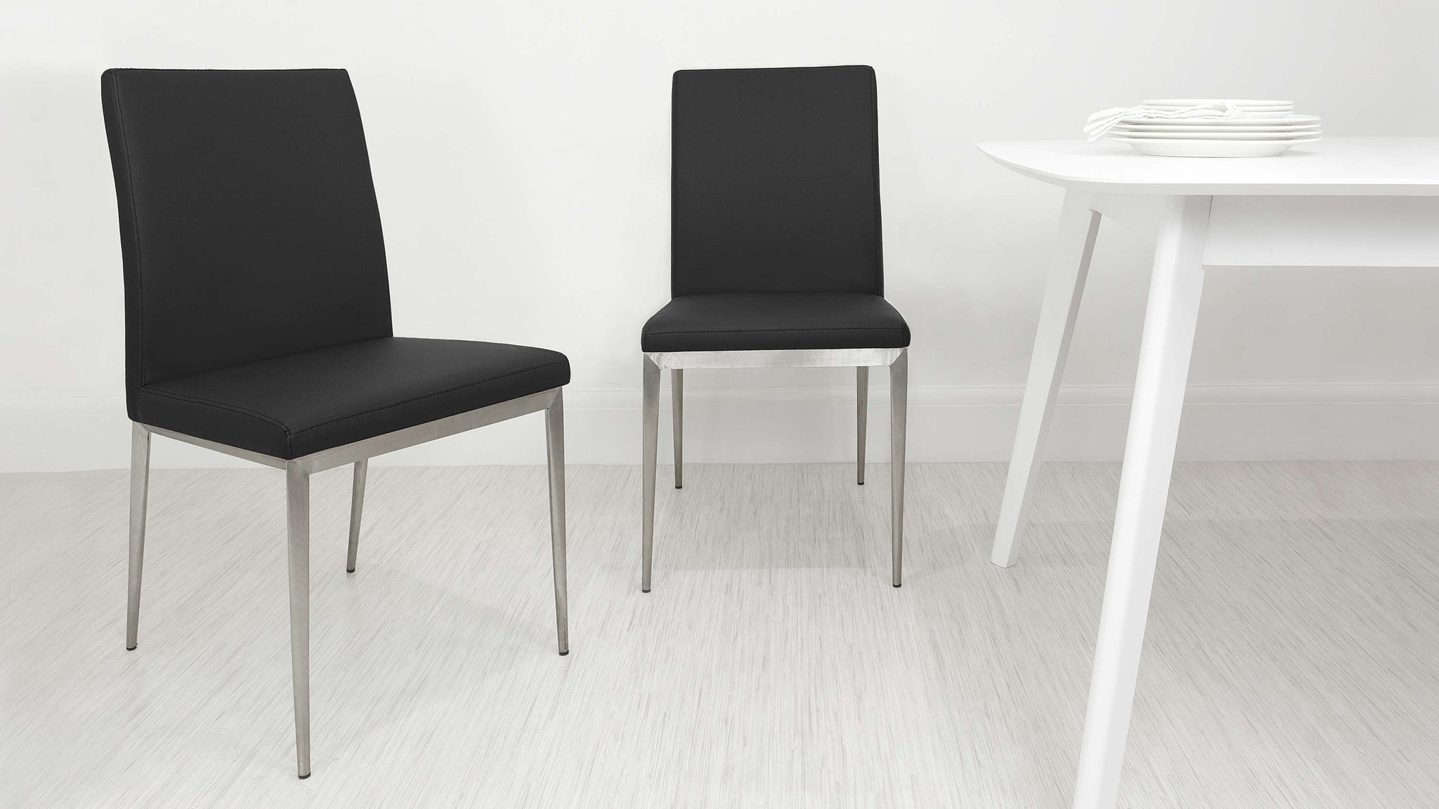 Comfortable Black Dining Chairs