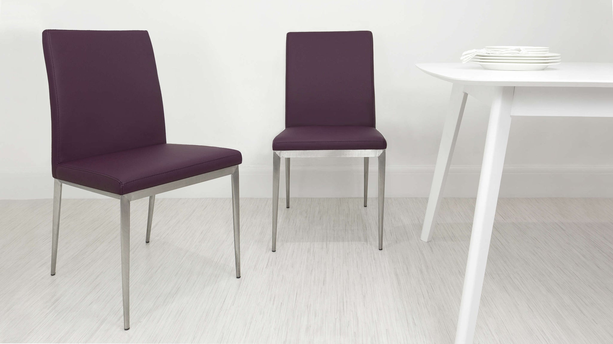 Comfortable Purple Dining Chairs