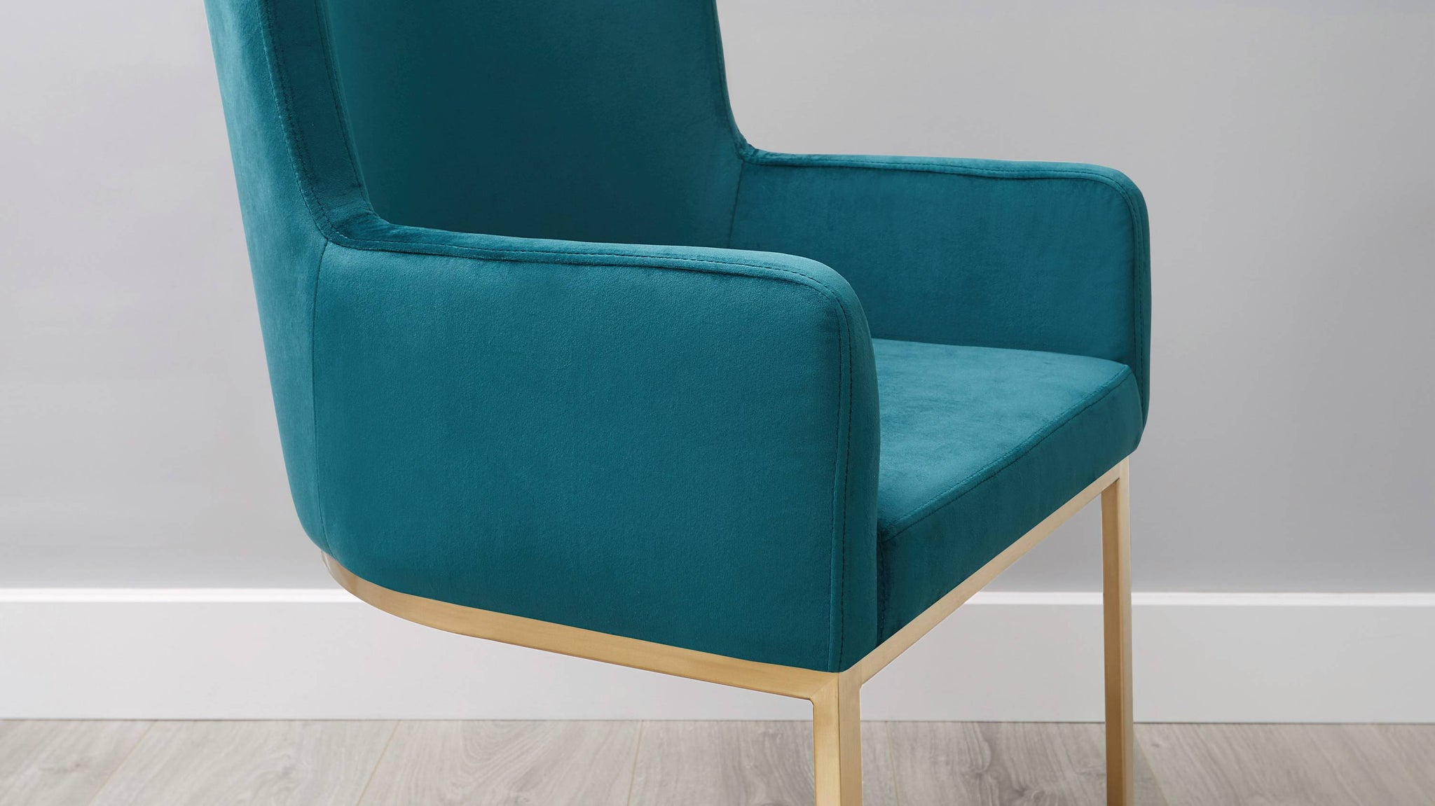 Buy teal large dining chairs