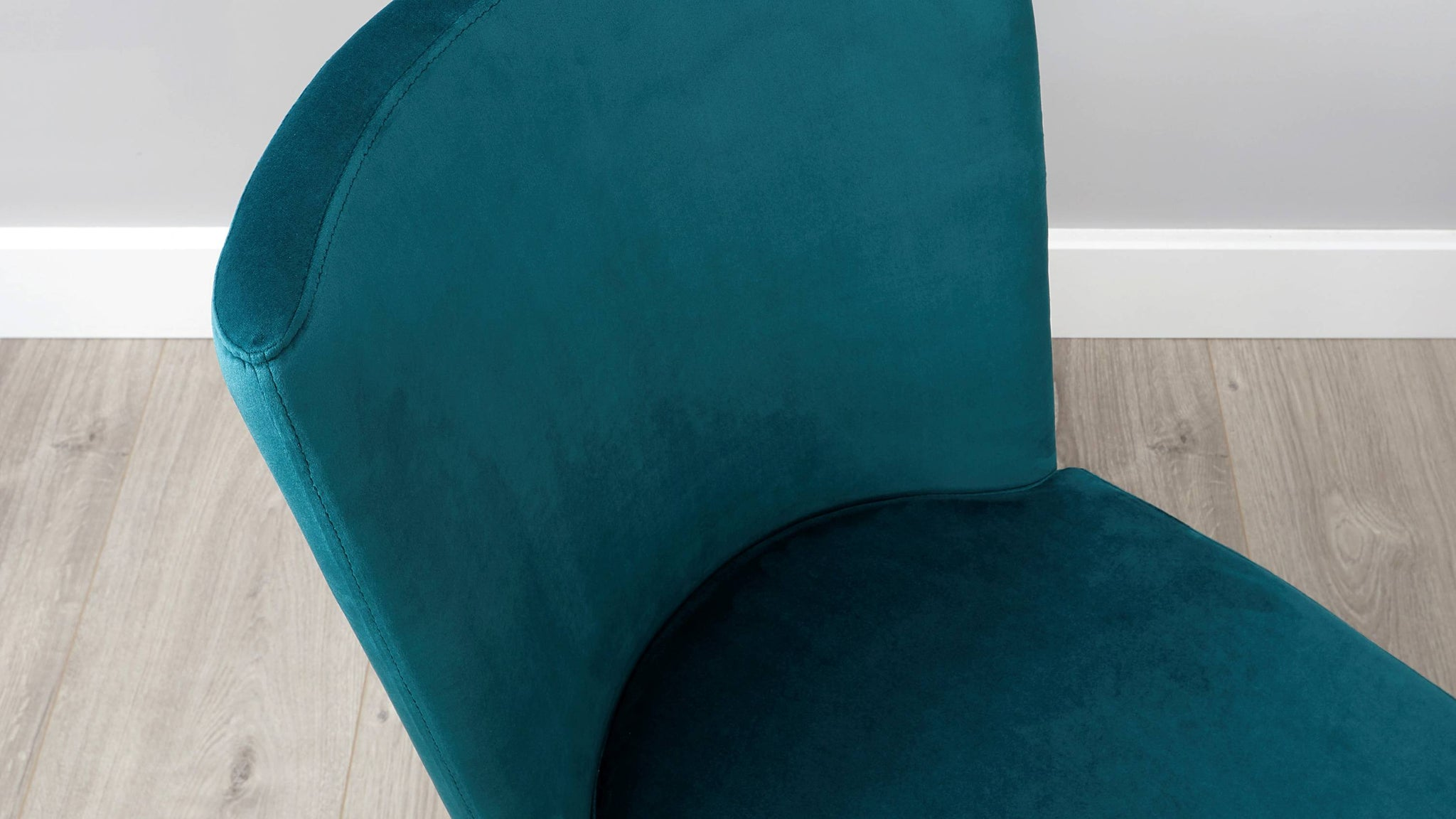 Form Velvet Cantilever Dining Chair DPS 2