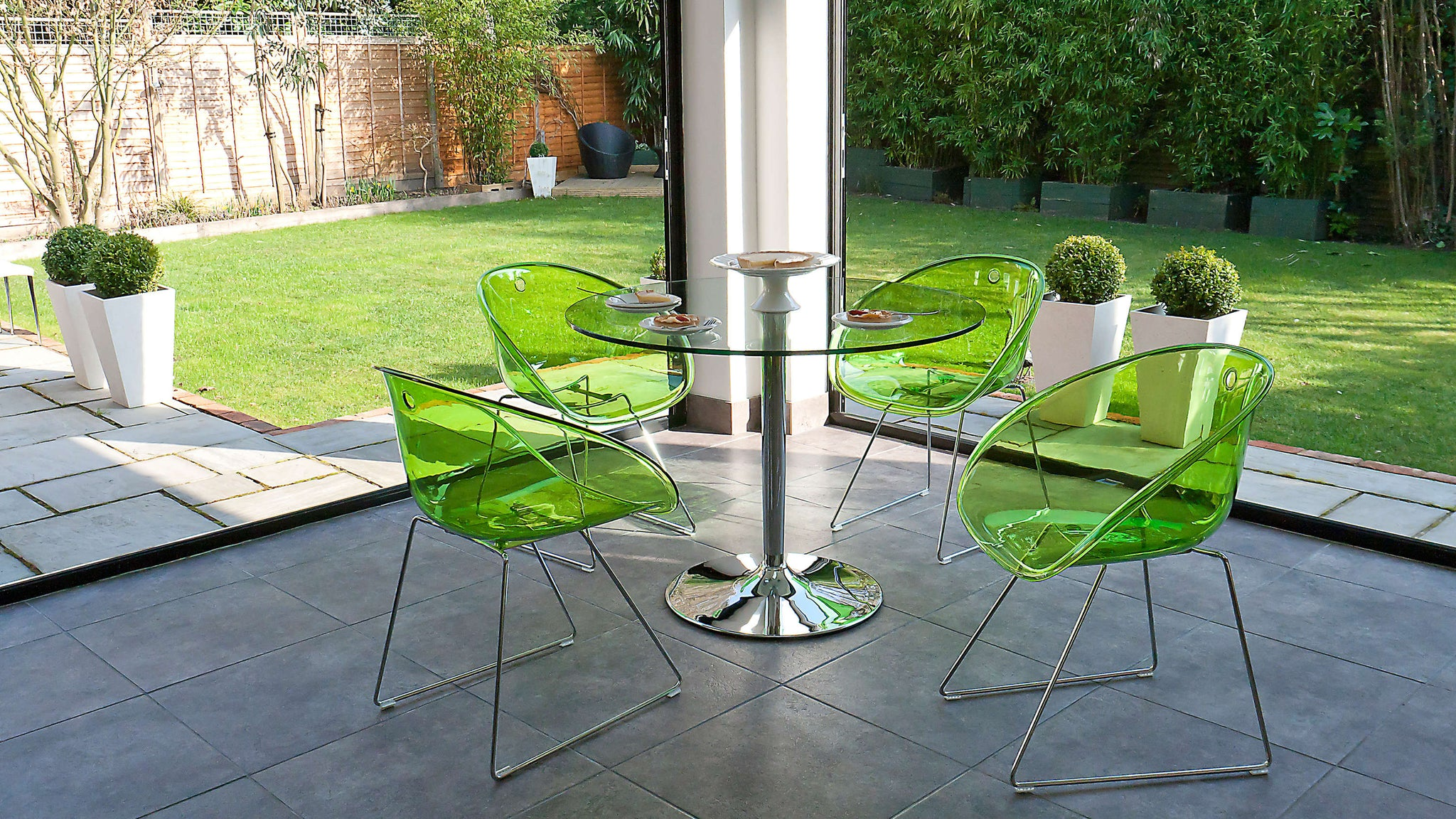 Green Dining Chairs UK