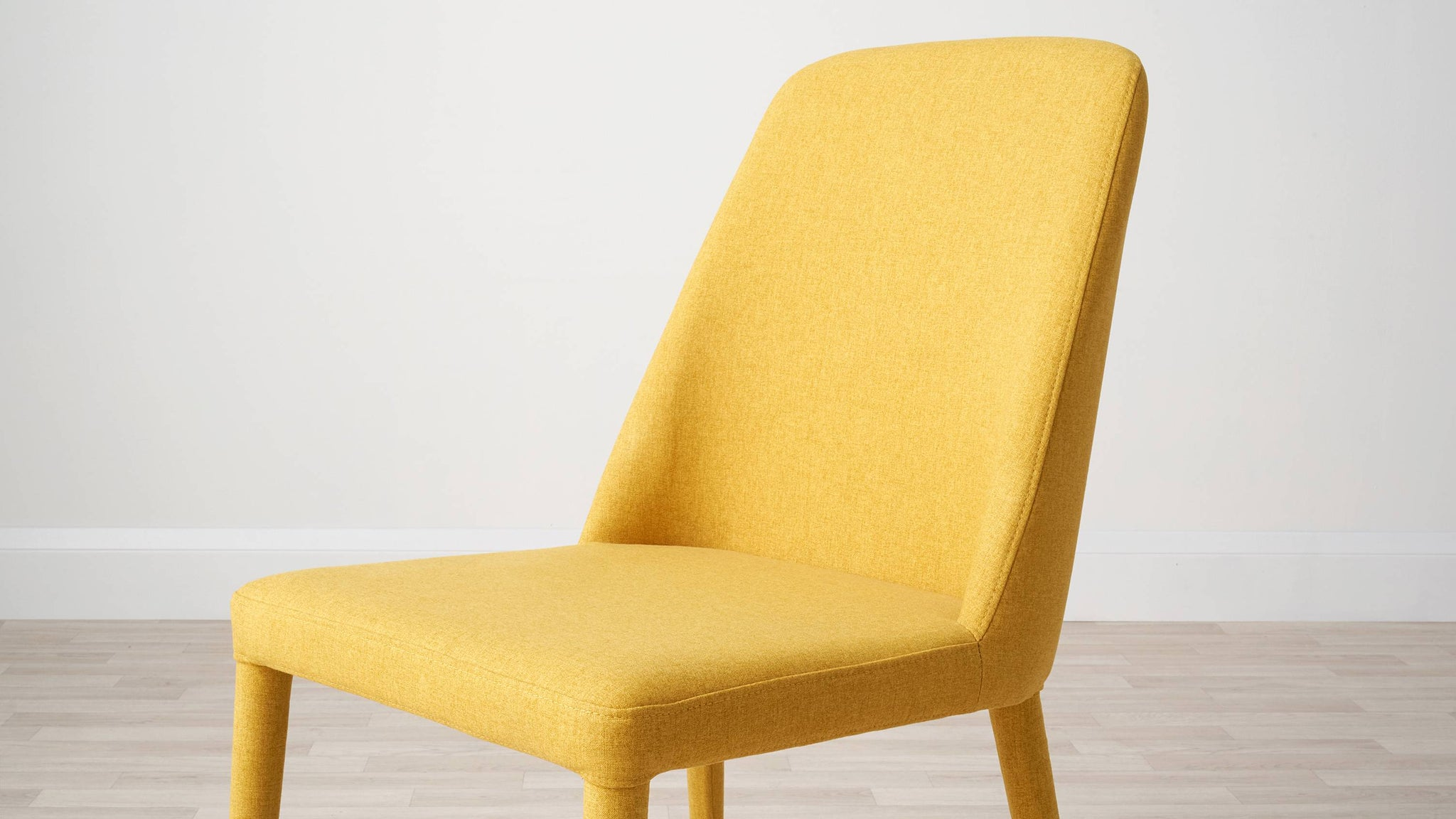 Supportive fabric dining chairs