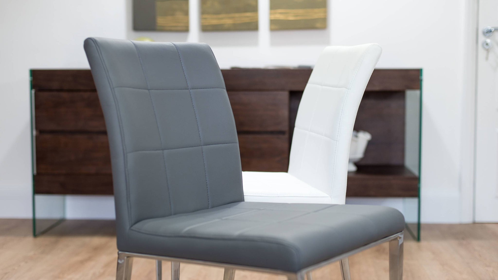 Contemporary Grey Dining Chairs UK