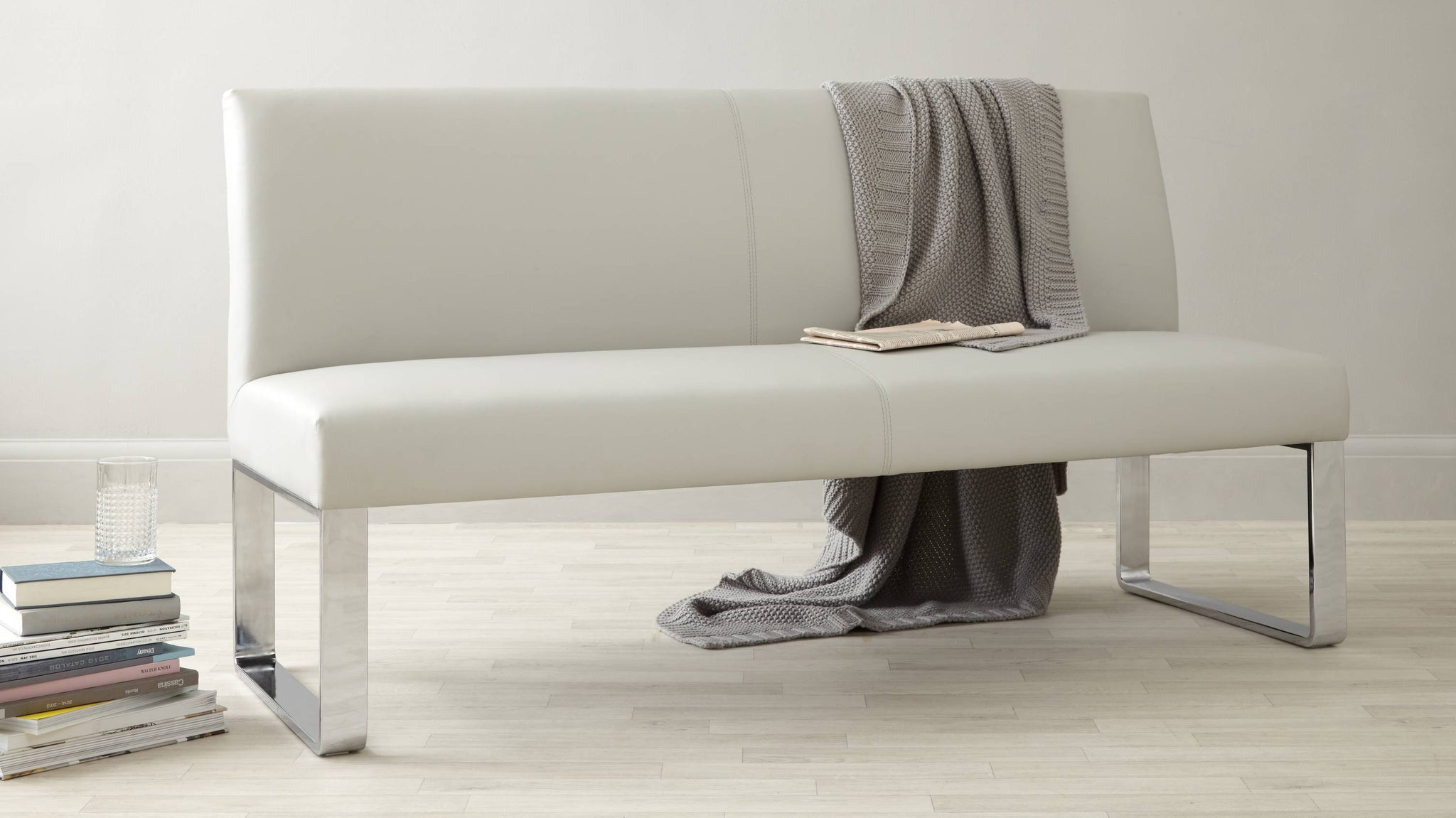 modern luxurious bench