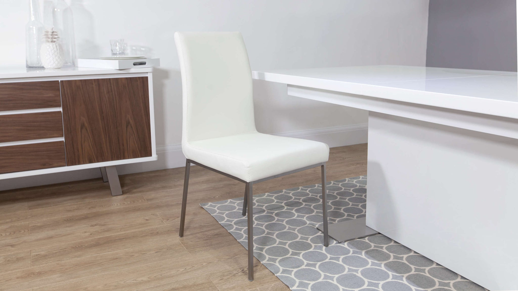 White Dining Chairs Delivery in UK